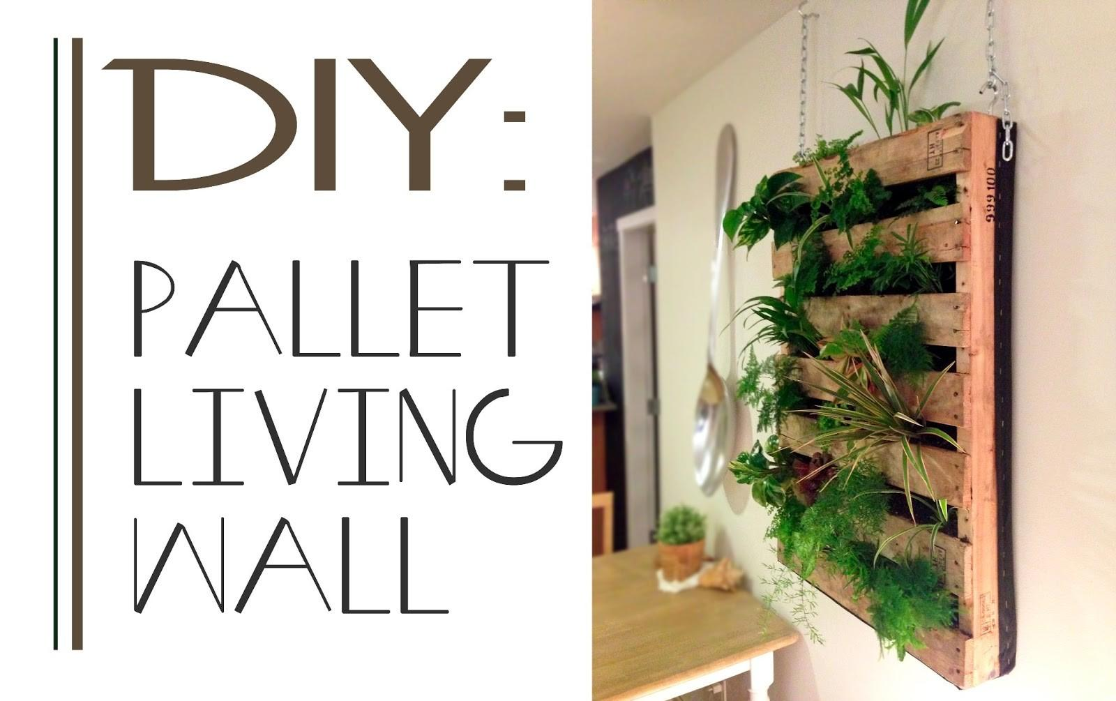 Brew Diy Pallet Living Wall