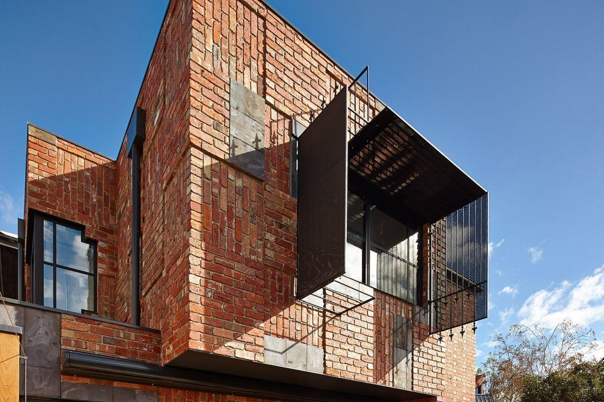 Brick Houses Form Bridge Between Past Present