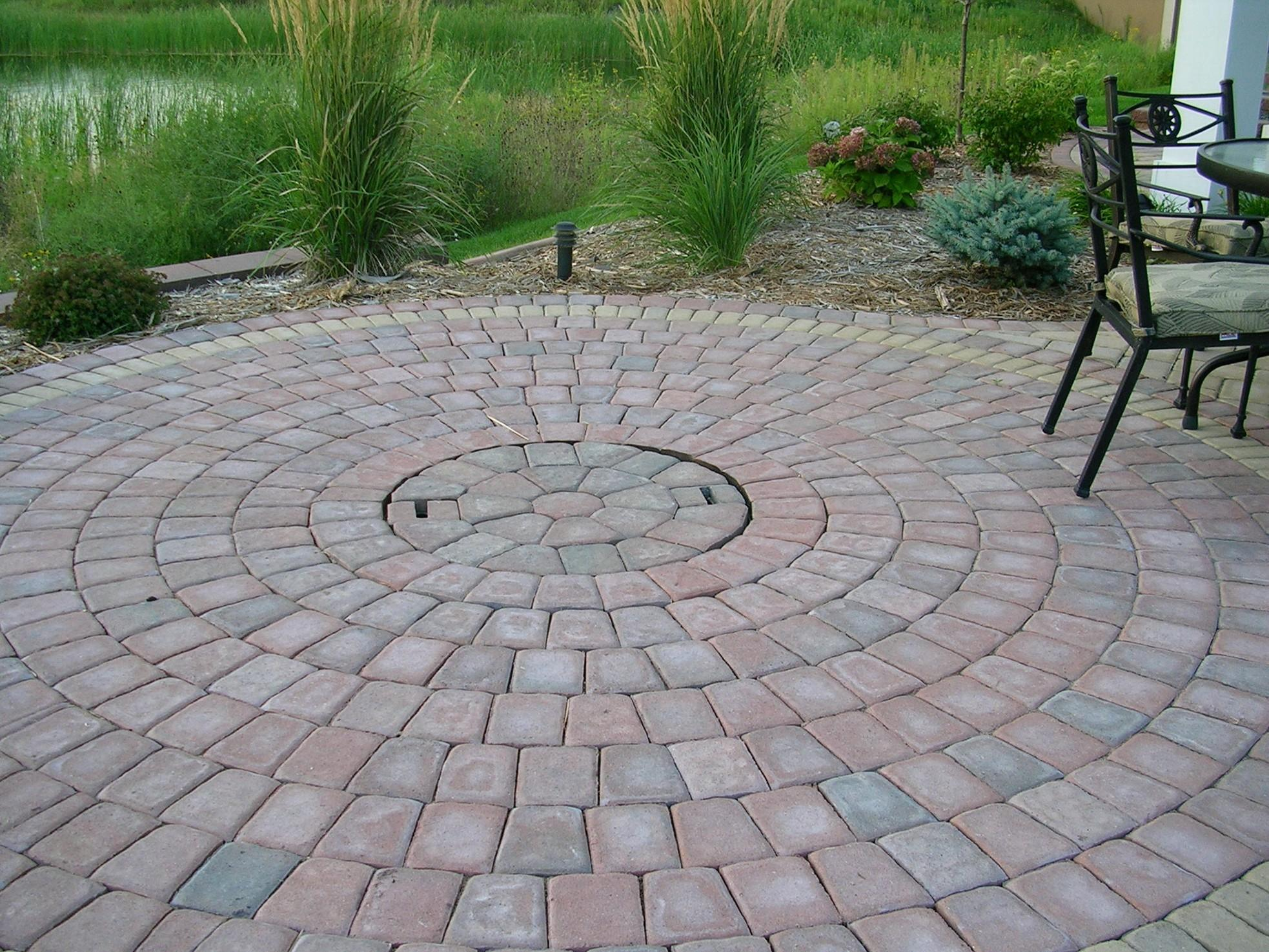 Brick Patio Designs
