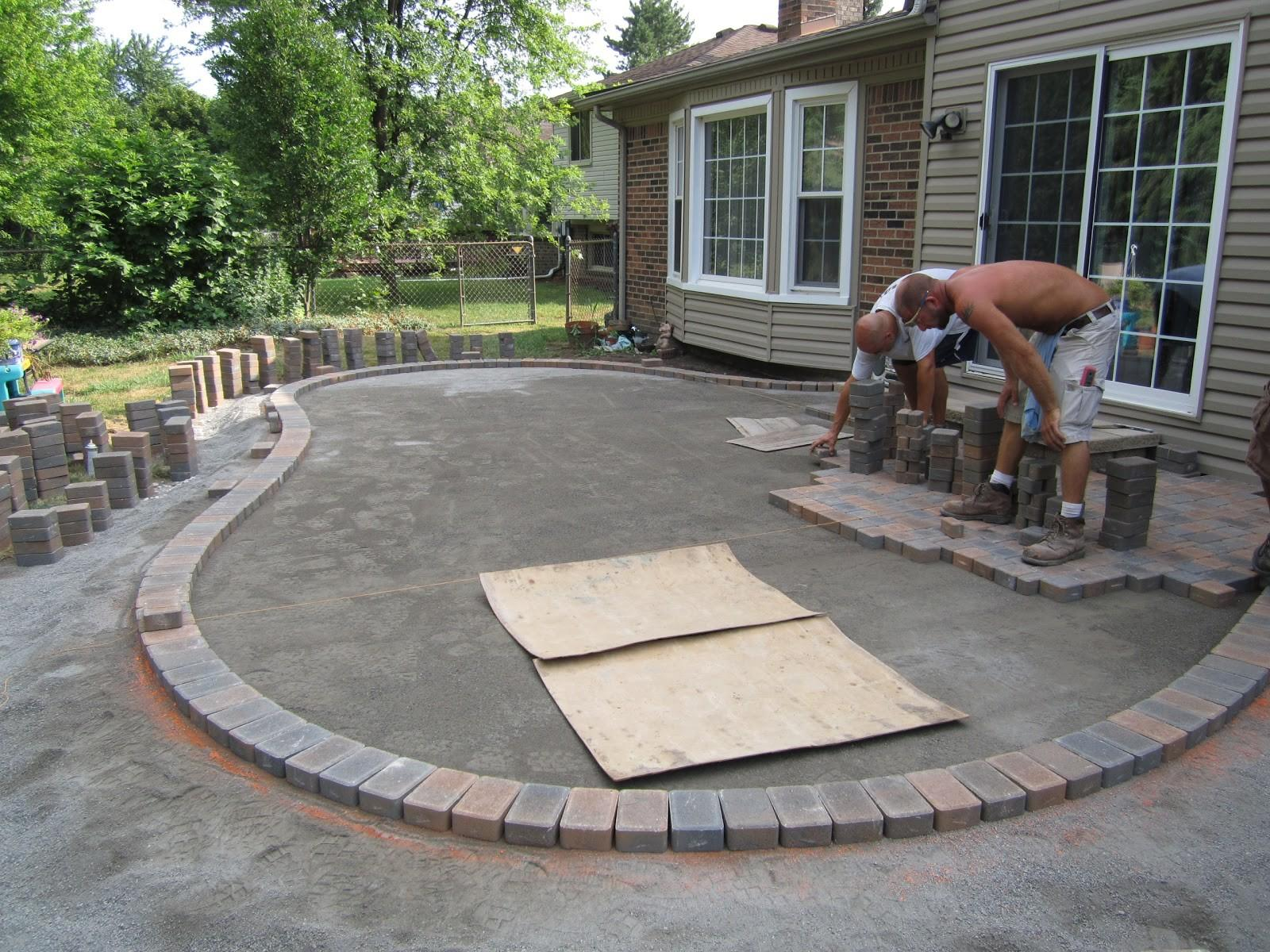 Brick Paver Patio Ideas Design