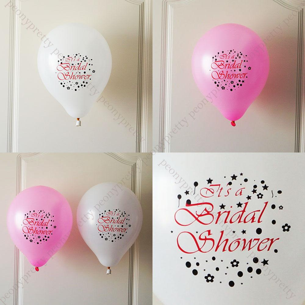 Bridal Shower Quality Latex Balloon Wedding Party