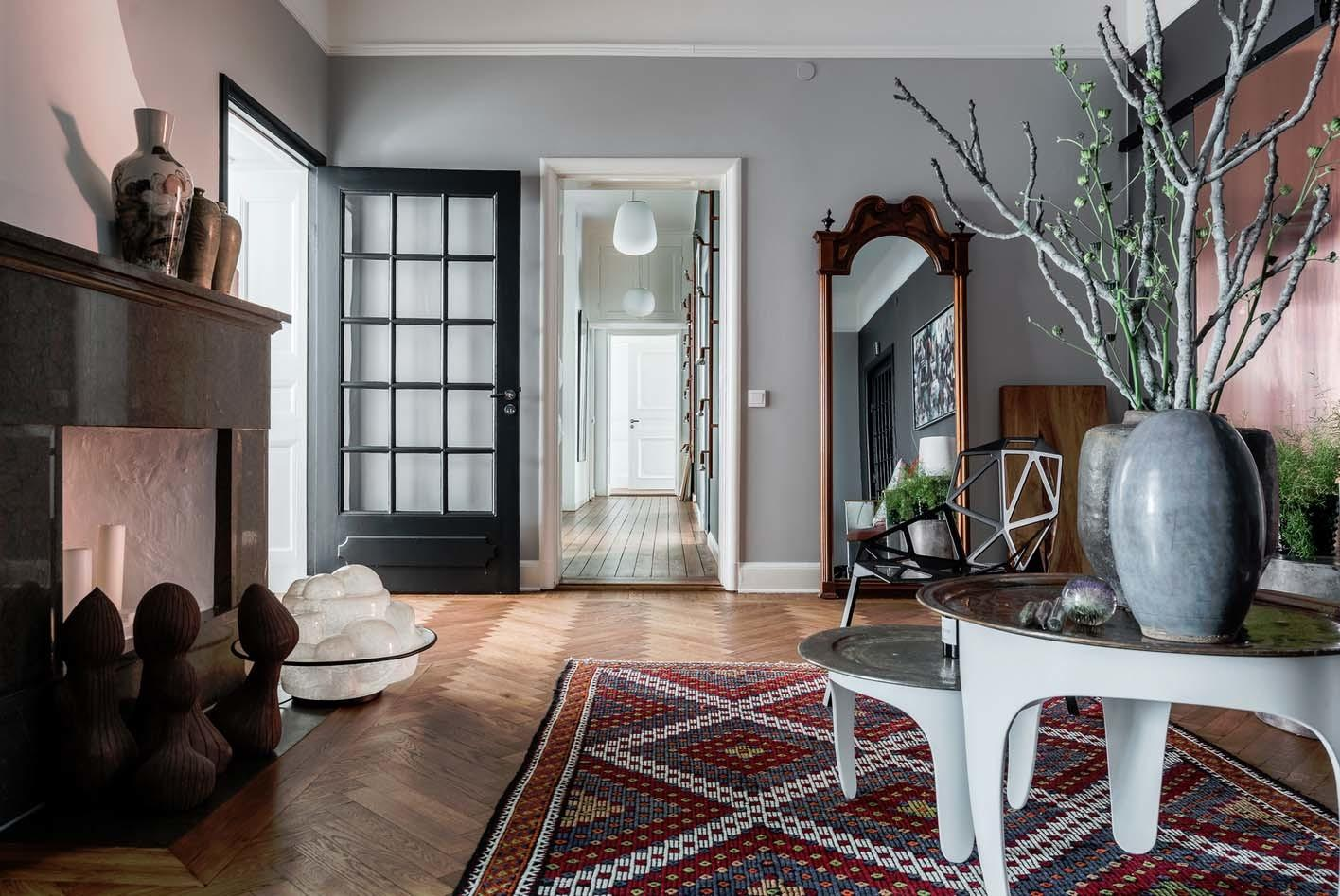 Bright Airy Plant Filled Apartment Stermalm