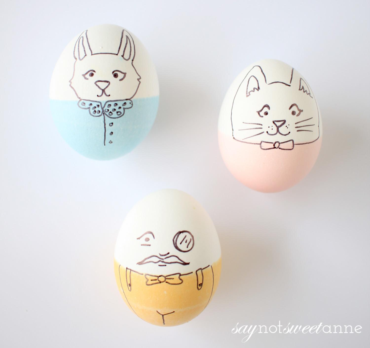 Bright Colorful Easter Egg Ideas Sweet