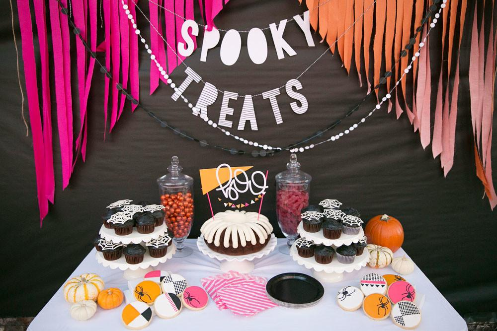 Bright Colorful Halloween Party Ideas Tell Love
