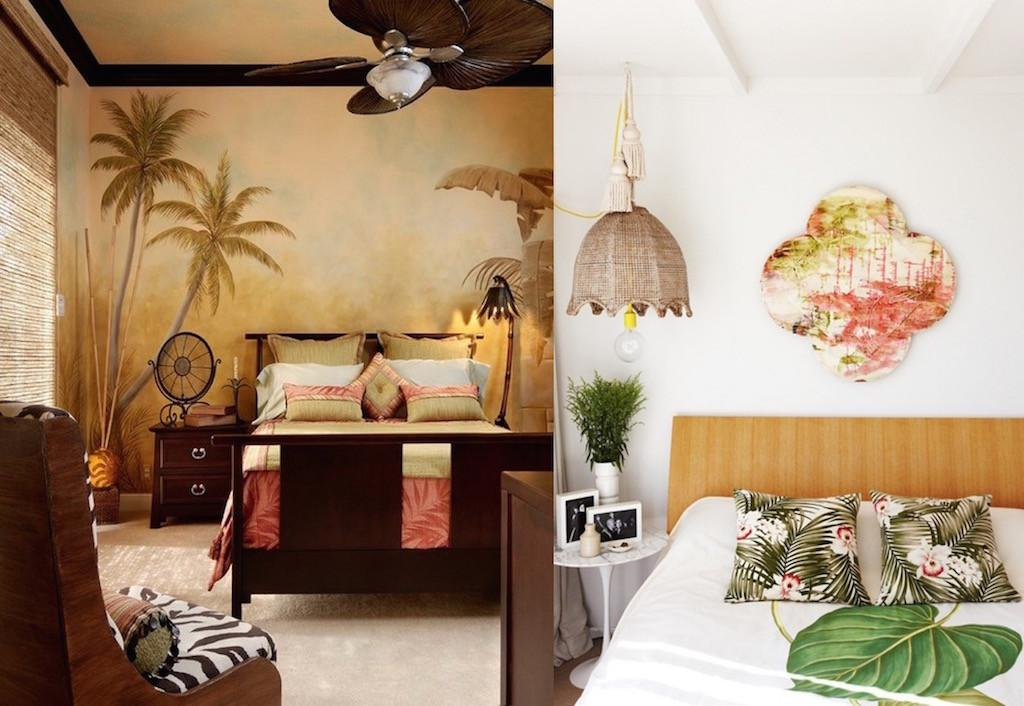 Bright Tropical Bedroom Designs Feed Inspiration