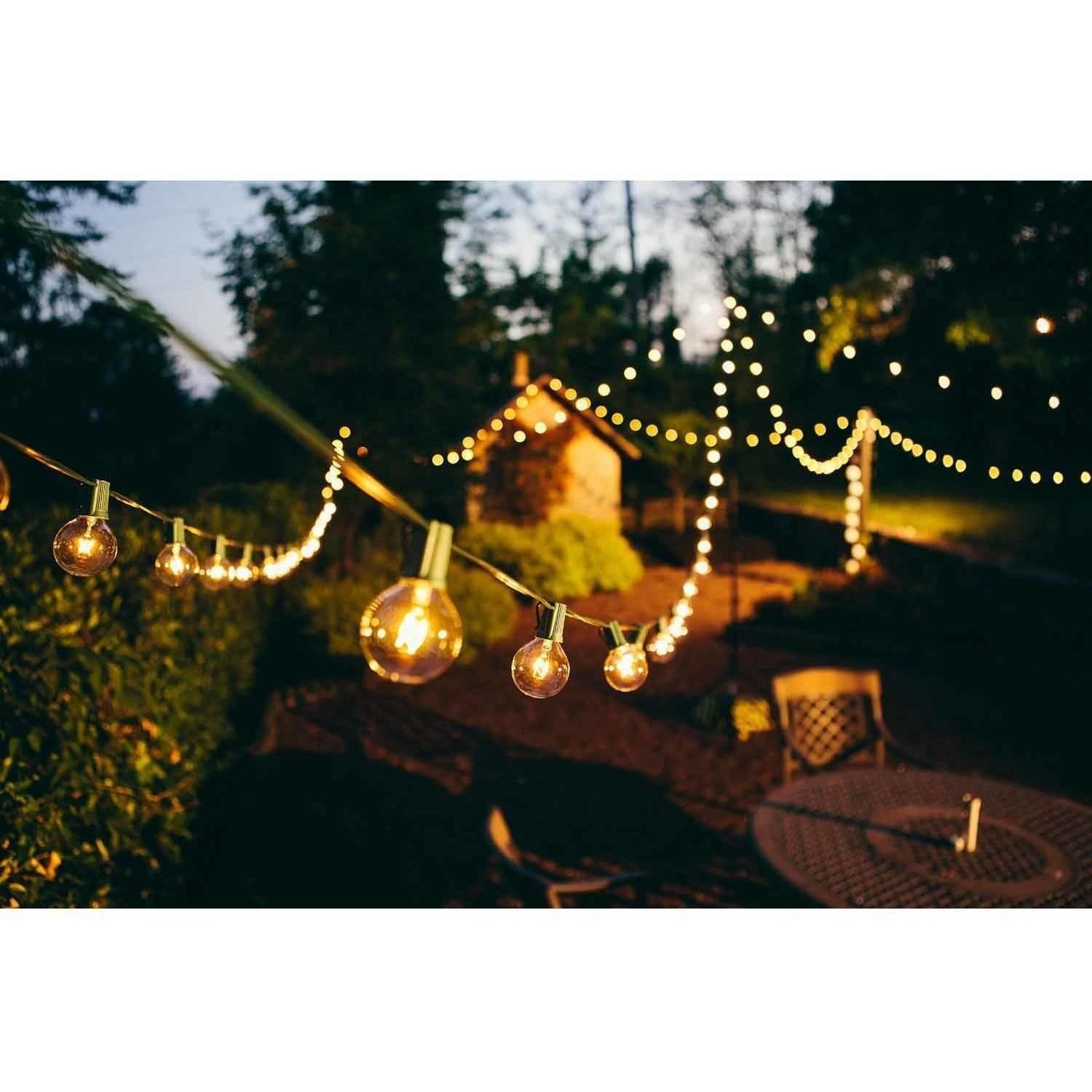 Brightech Ambience Outdoor String Lights Clear