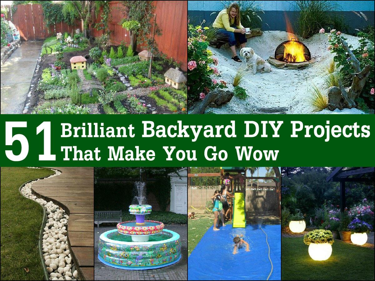 Brilliant Backyard Diy Projects Make Wow