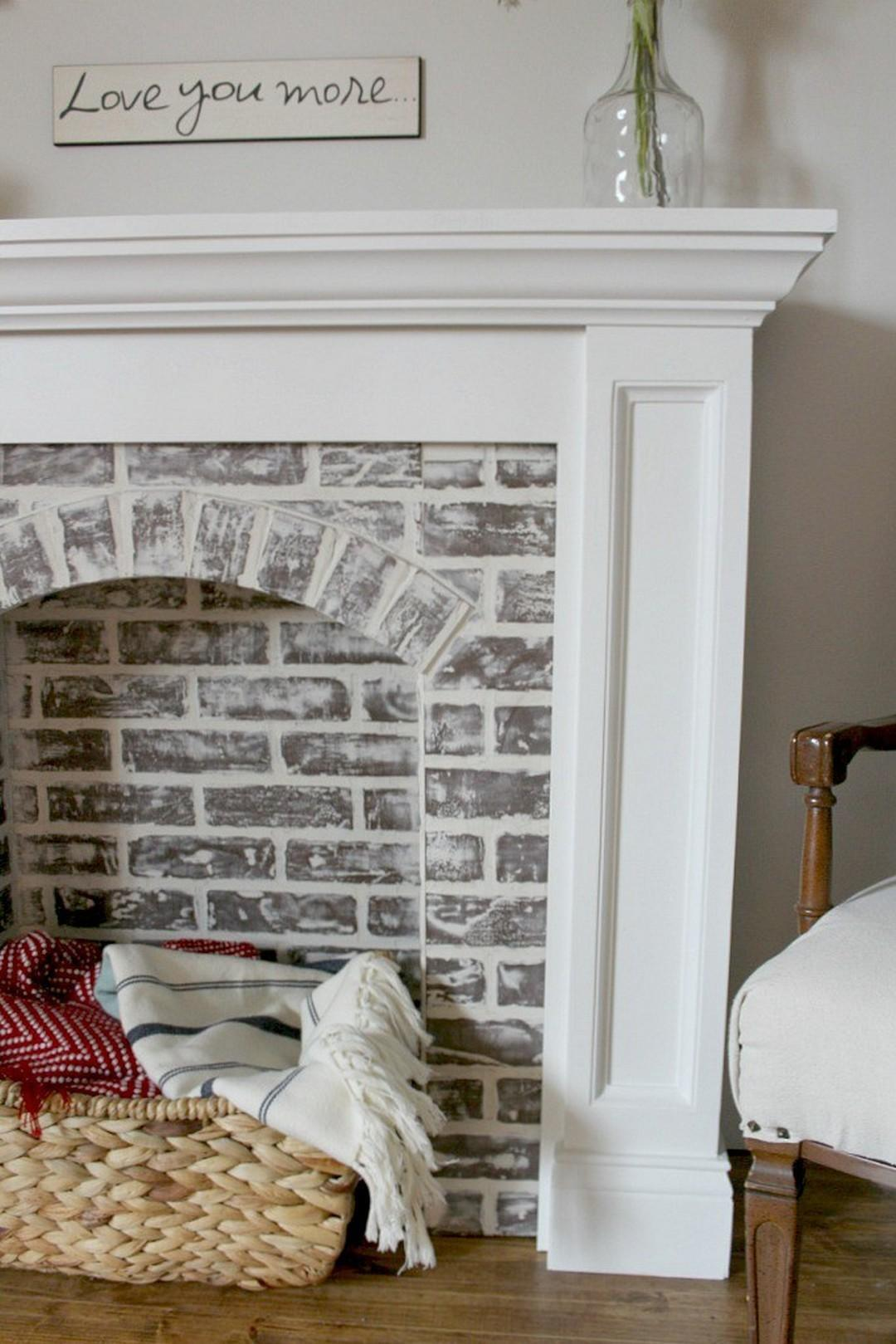 Brilliant Diy Faux Fireplace Design Ideas Onechitecture