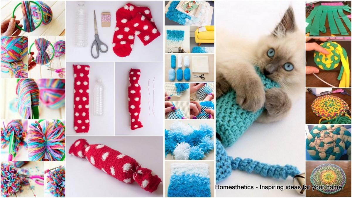 Brilliant Easy Homemade Diy Cat Toys Your Furry Friend