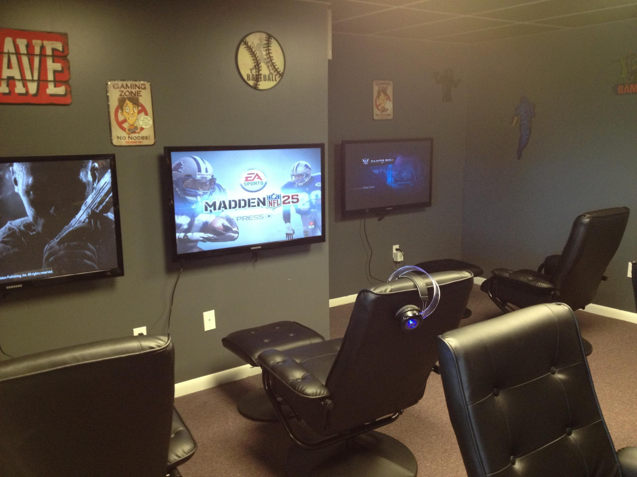 Brilliant Game Room Layout Ideas
