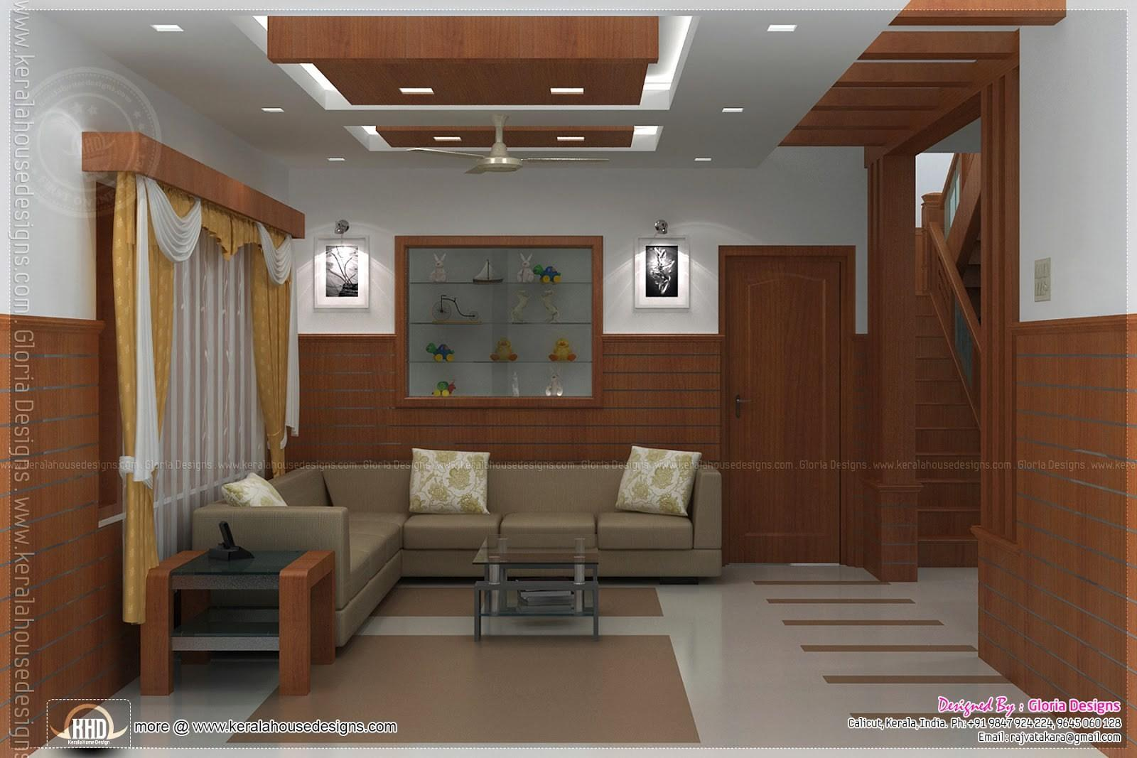 Brilliant Living Room Interior Design Kerala