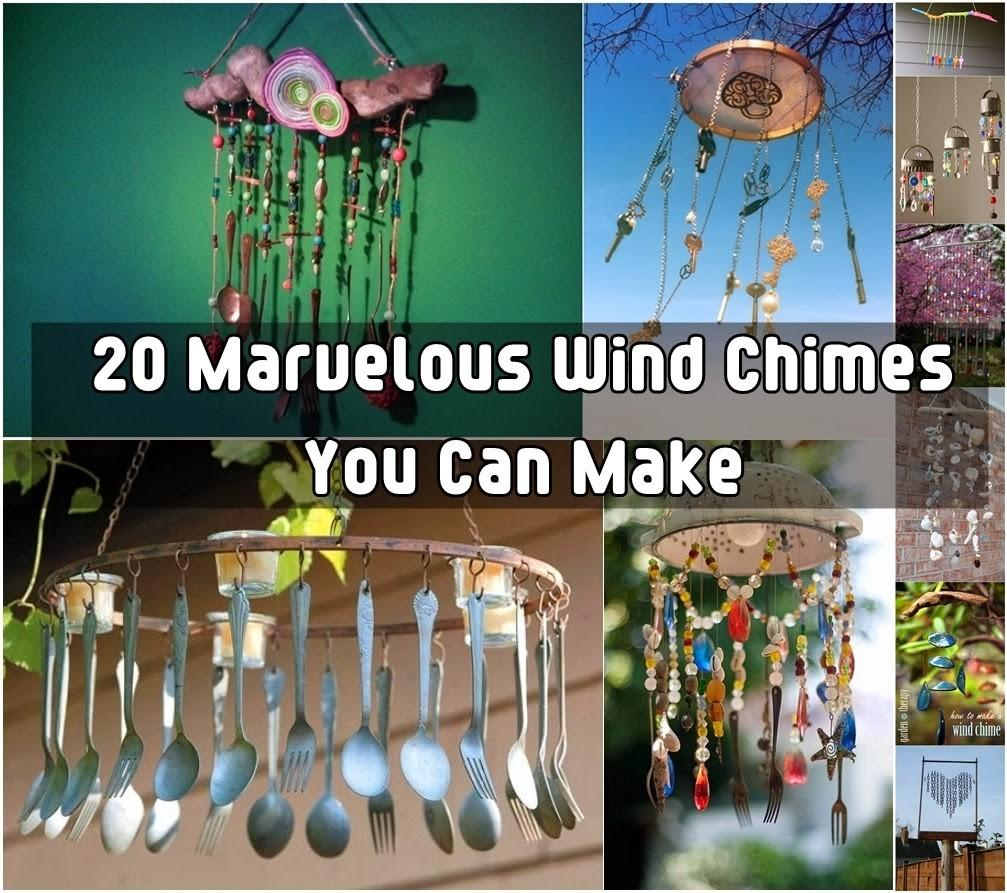 Brilliant Marvelous Diy Wind Chimes Craft Projects
