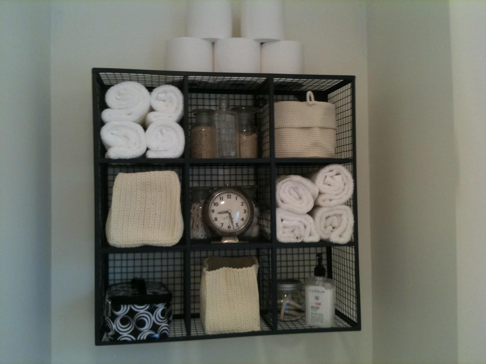 Brilliant Over Toilet Storage Ideas