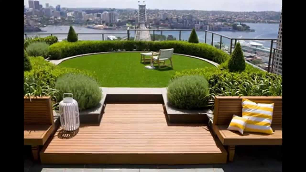 Brilliant Roof Garden Design Inspiration