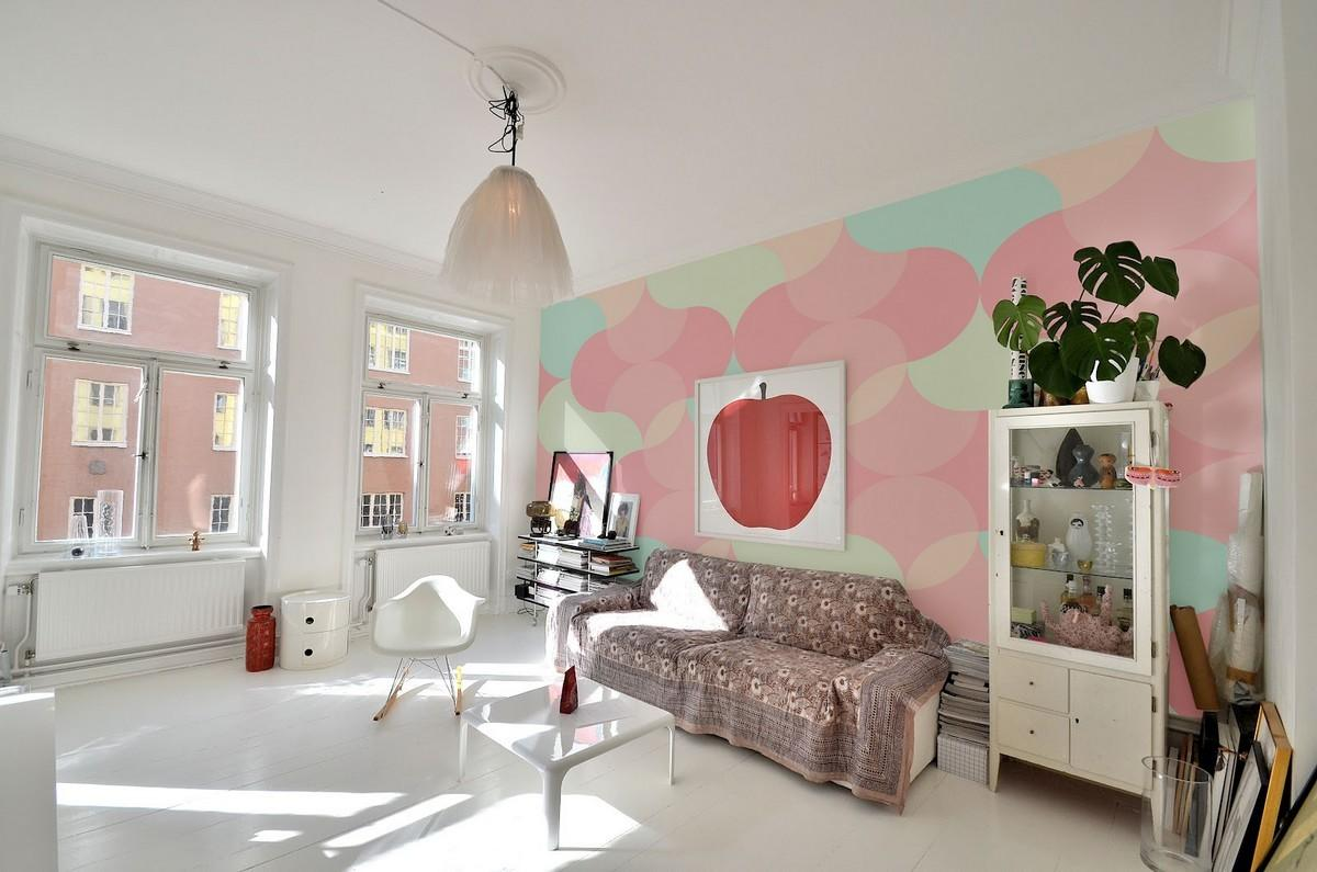 Bring Essence Summer Indoors Wall Murals Pastel