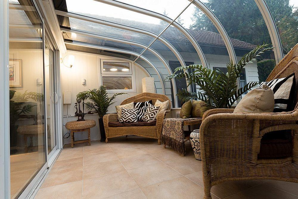 Bring Home Holiday Vibe Relaxing Tropical Sunrooms