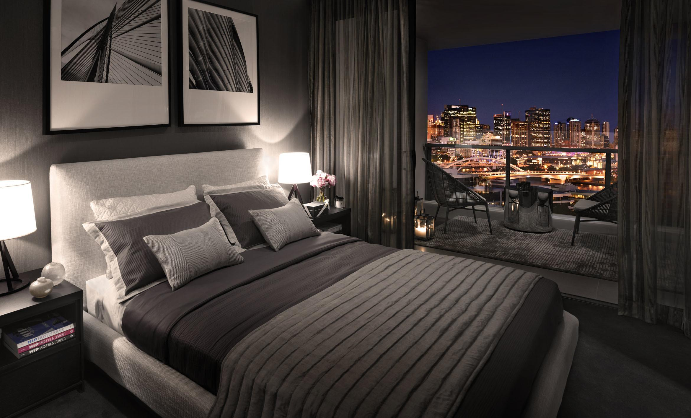 Brisbane Bed Apartments Sale Milton Residences