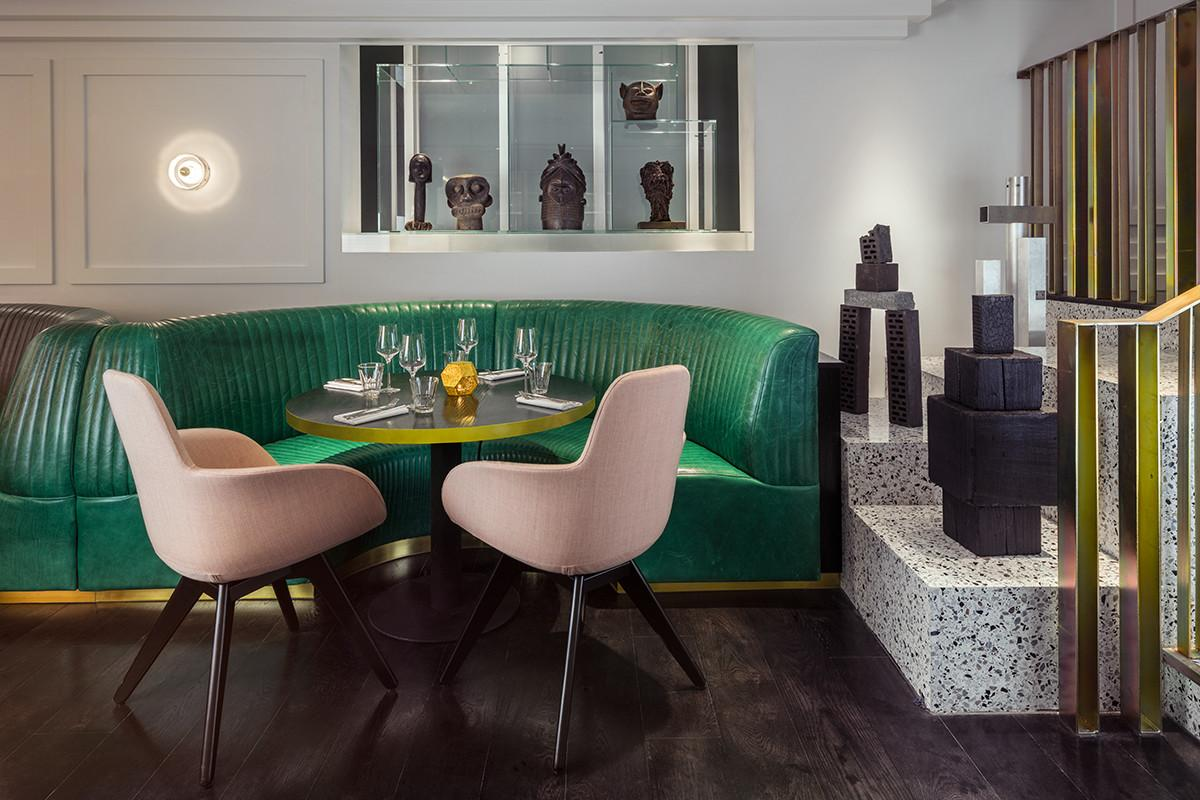 Bronte Restaurant London Tom Dixon Urdesignmag