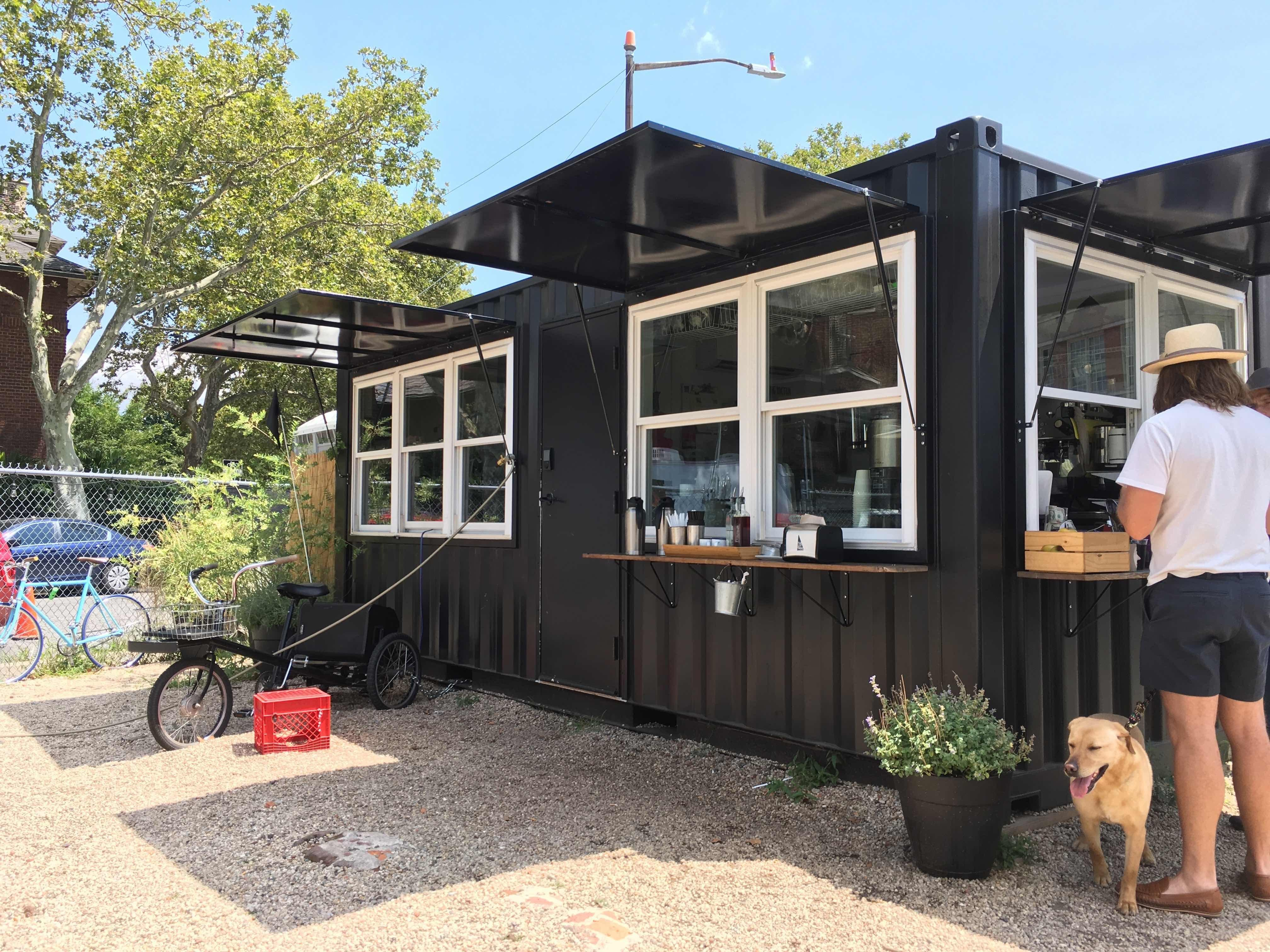 Brooklyn Shipping Container Caf Turns Out Tunes