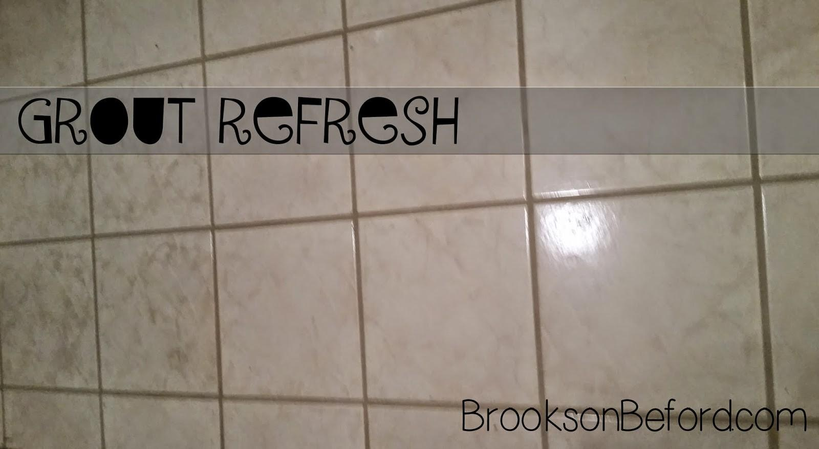 Brooks Bedford Grout Refresh Home Project Tile
