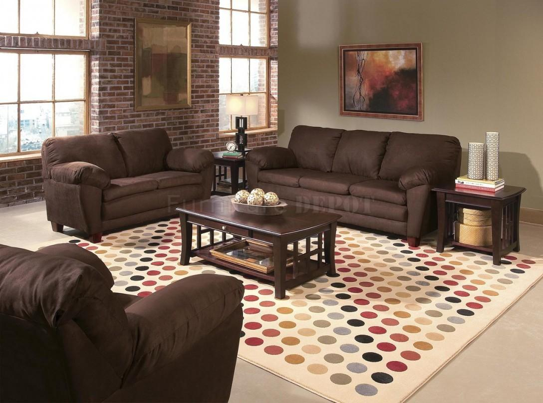 Brown Green Blue Living Room Ideas Couch