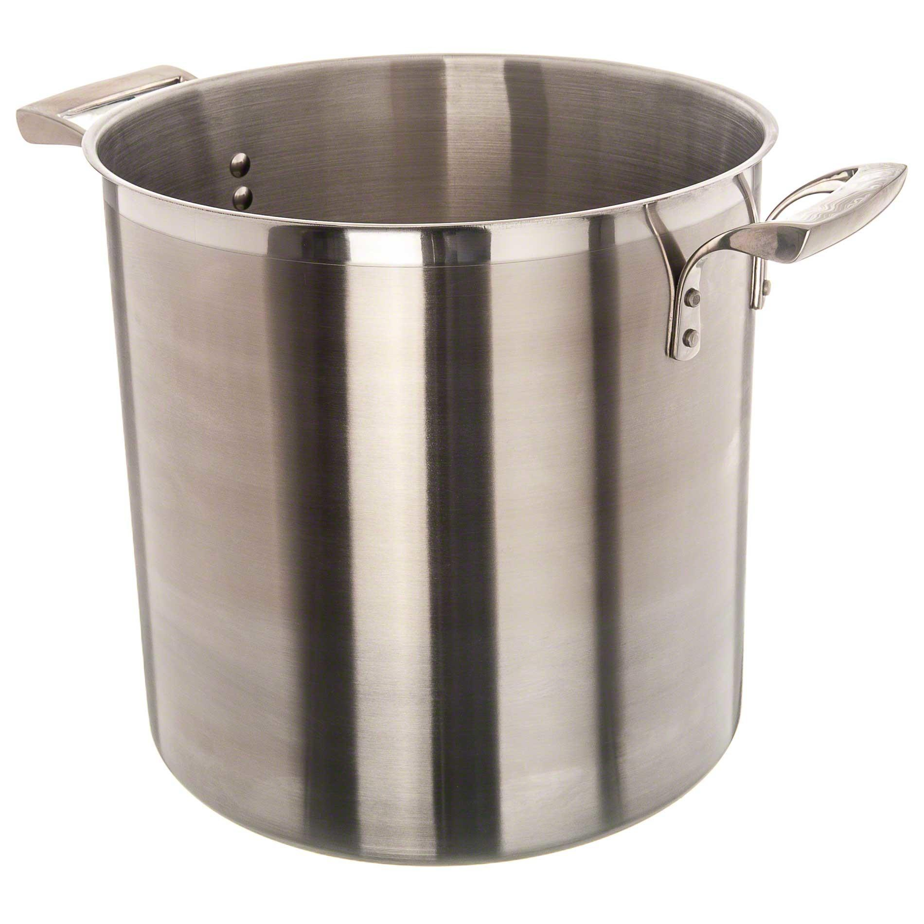 Browne Foodservice Stainless Steel Deep