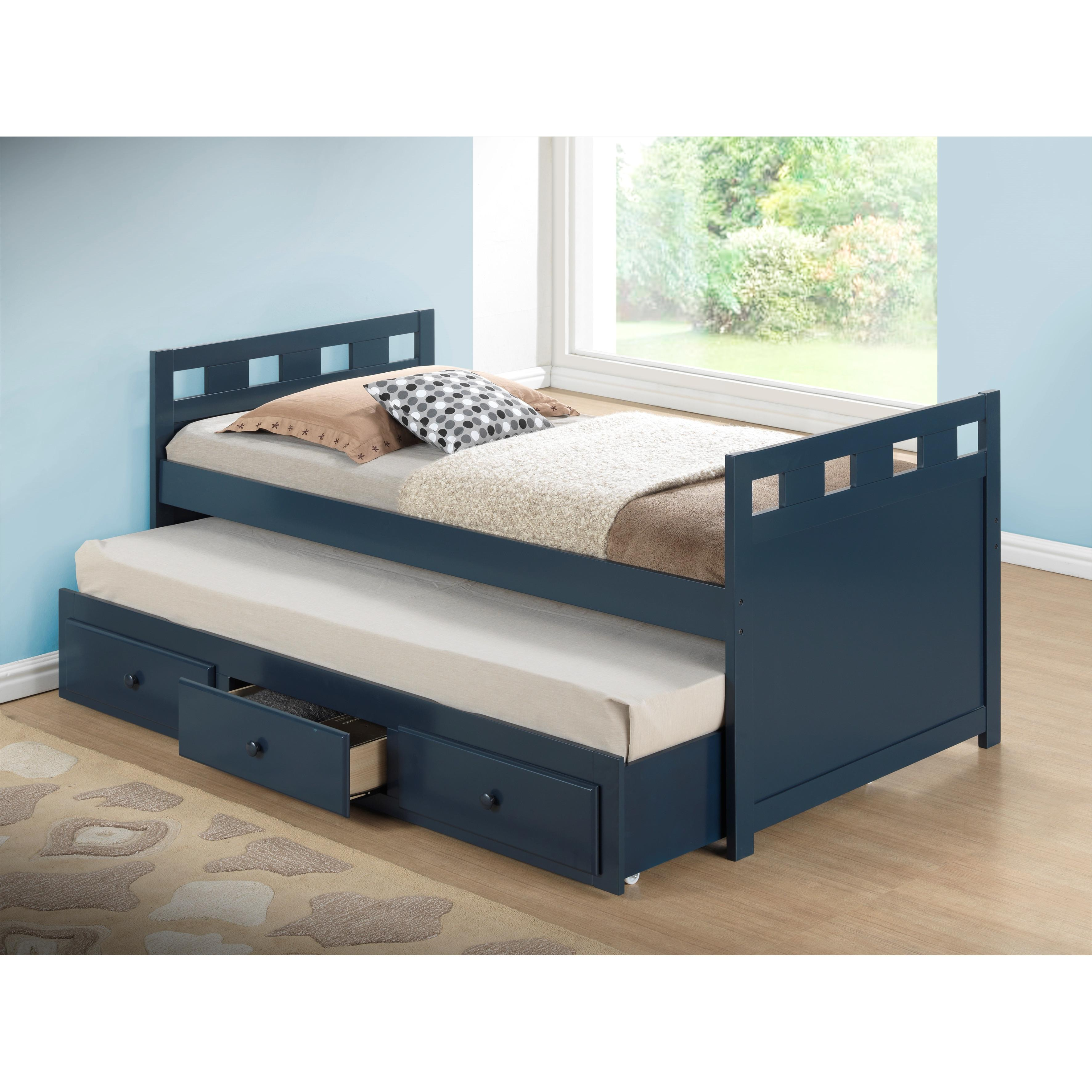 Broyhill Kids Breckenridge Twin Captain Bed Trundle