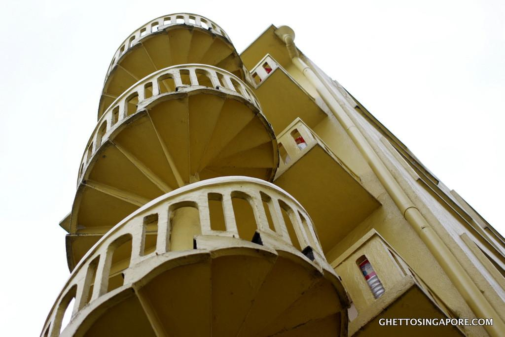 Bucket Swap Spiral Staircases Ghetto Singapore