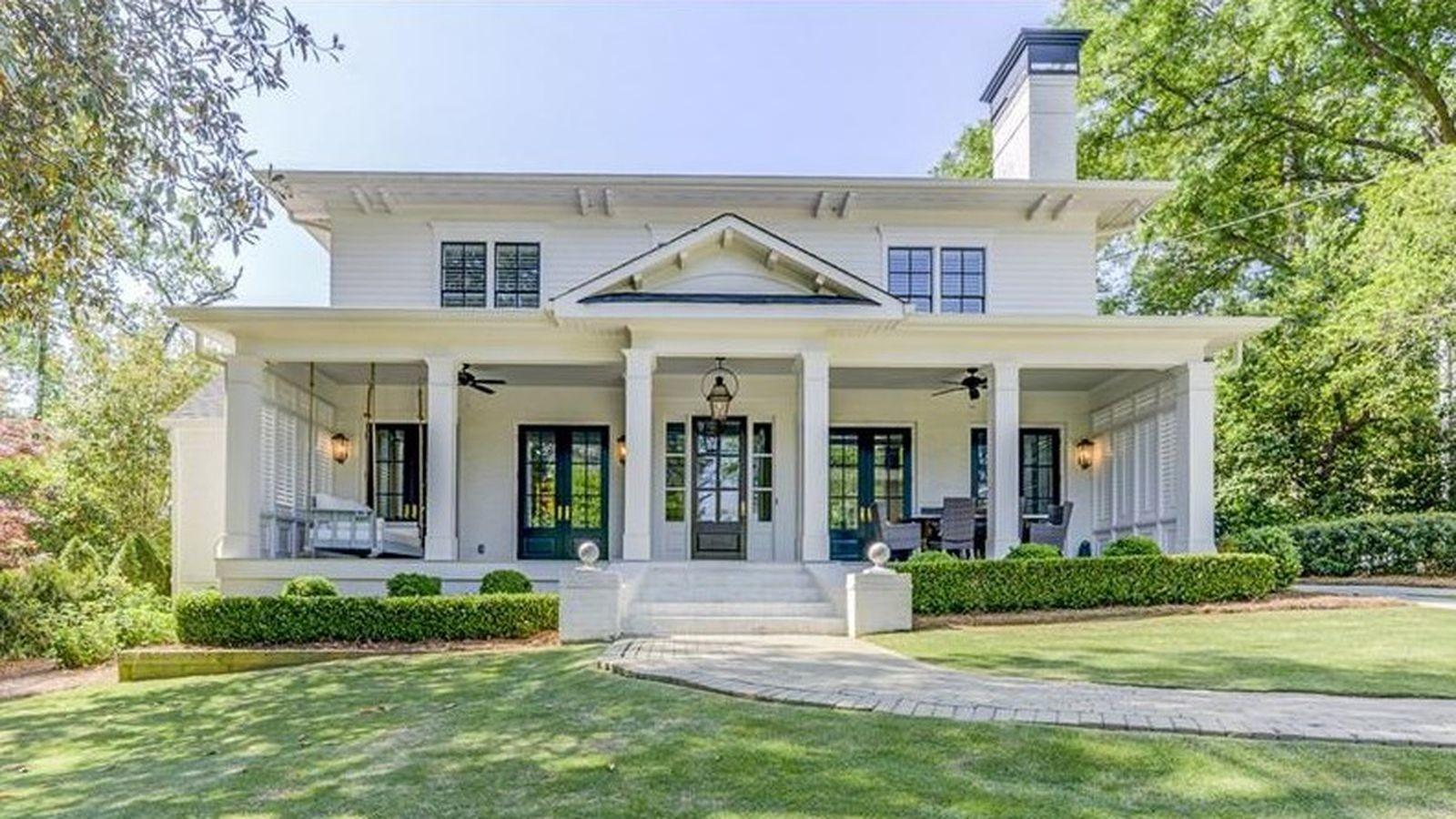 Buckhead Memorial Park Stylish 1940 Home Called