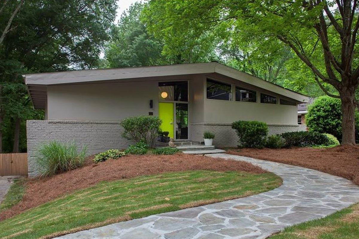 Buckhead Pad Called Pinnacle Midcentury Modern