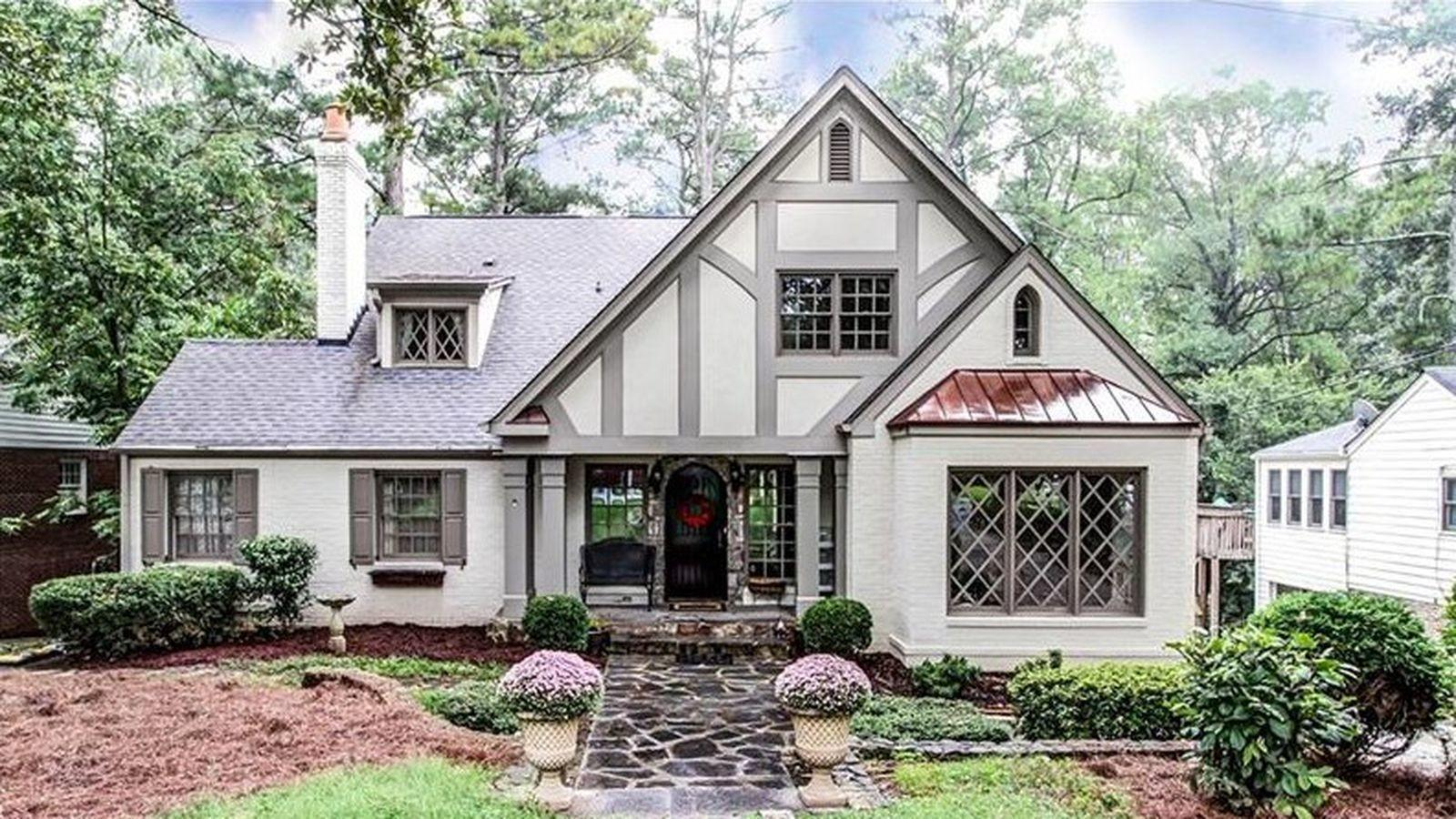 Buckhead Peachtree Park 900k English Tudor Oozes