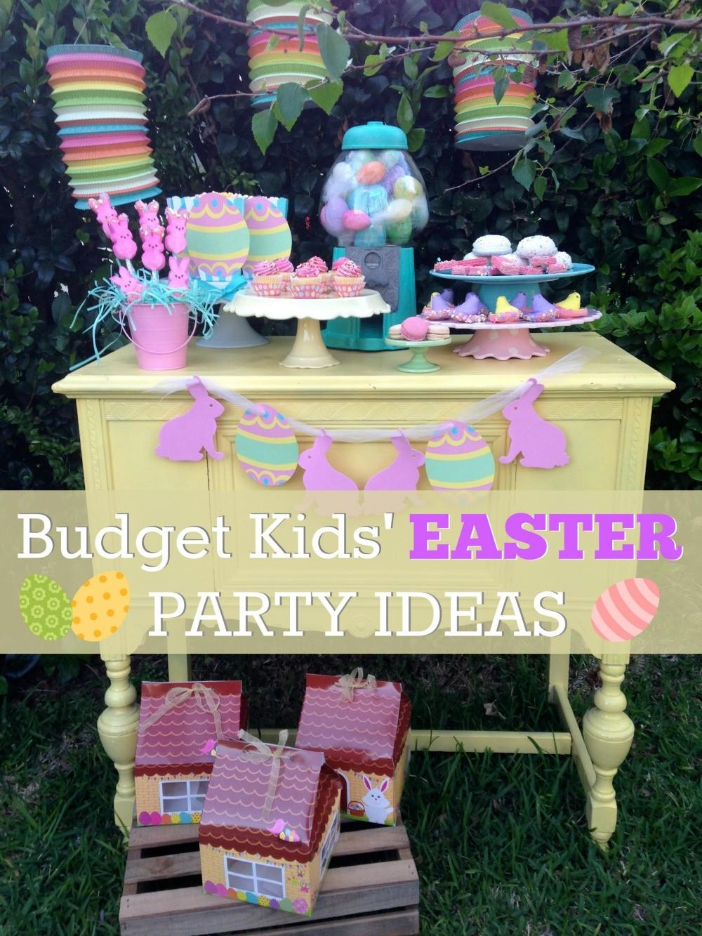 Budget Friendly Kids Easter Dessert Table Ideas Catch