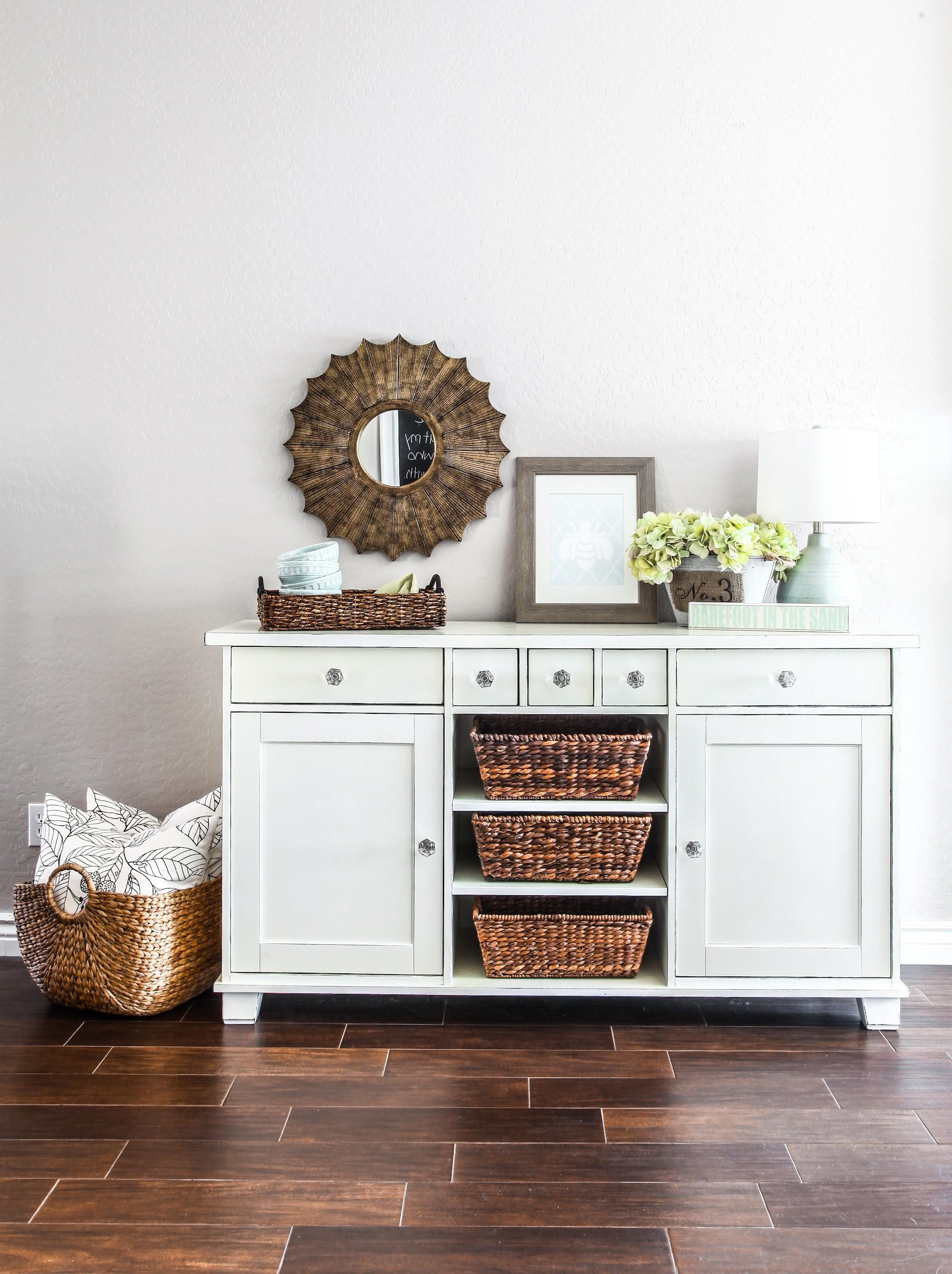 Buffet Makeover Littlehousebigplans