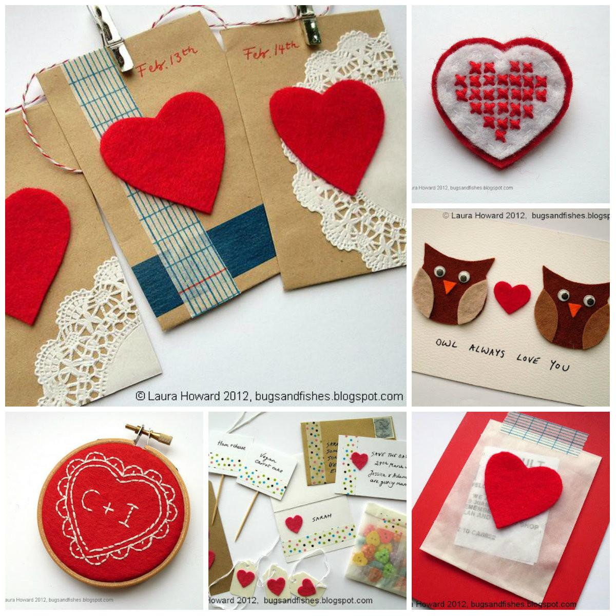 Bugs Fishes Lupin Craft Ideas Valentine Day