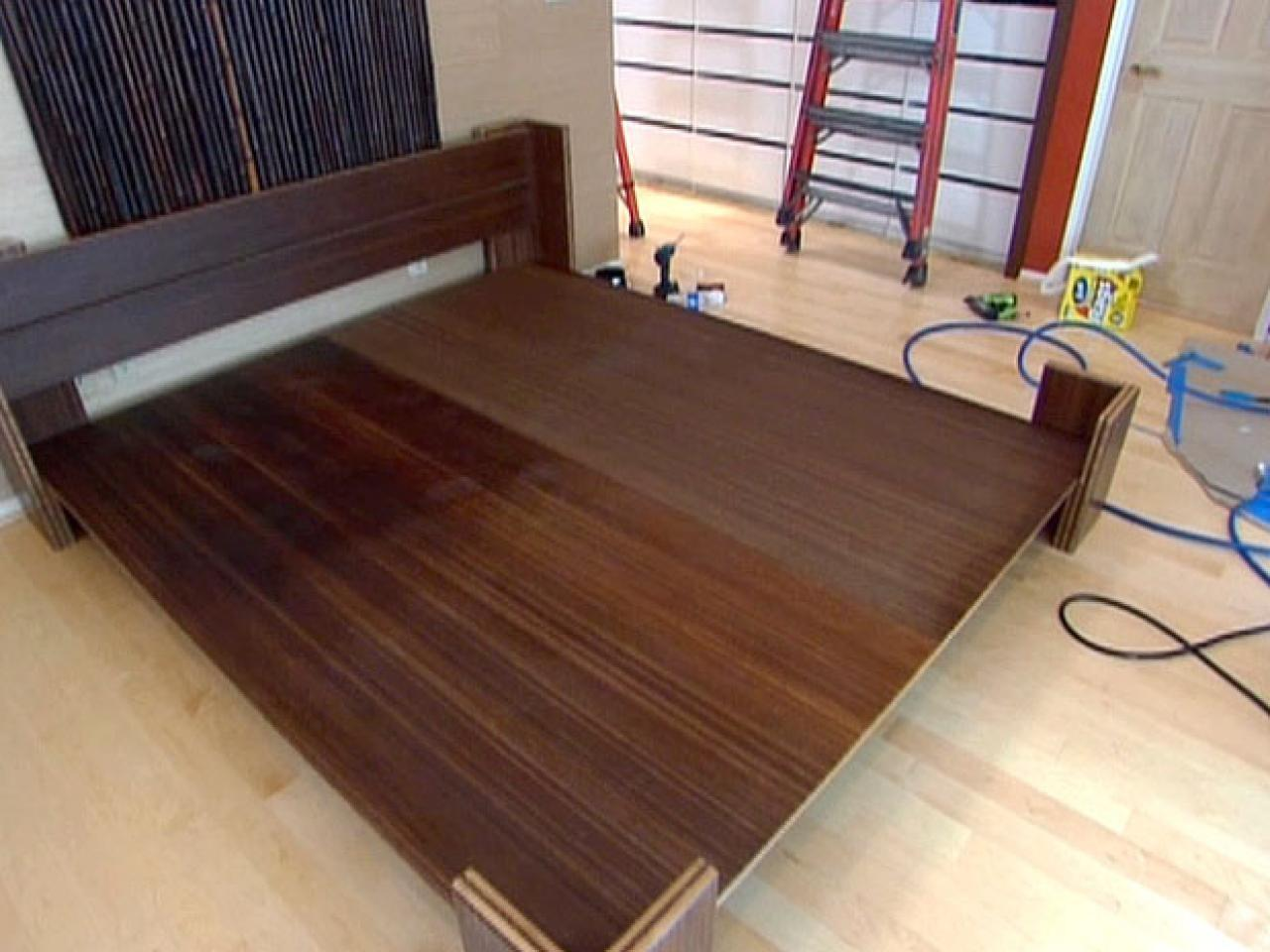 Build Bamboo Platform Bed