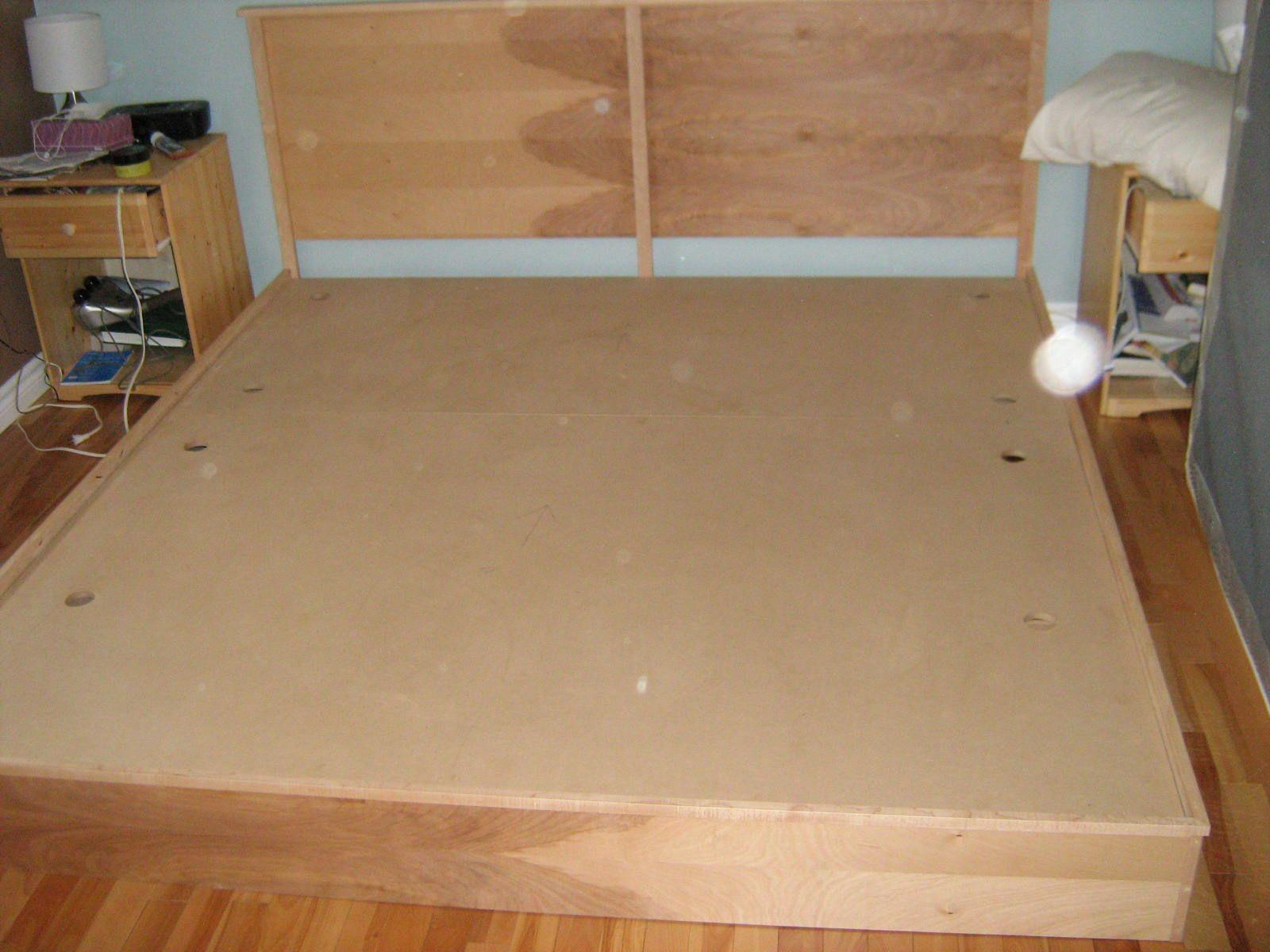 Build Cheap King Platform Bed Quick