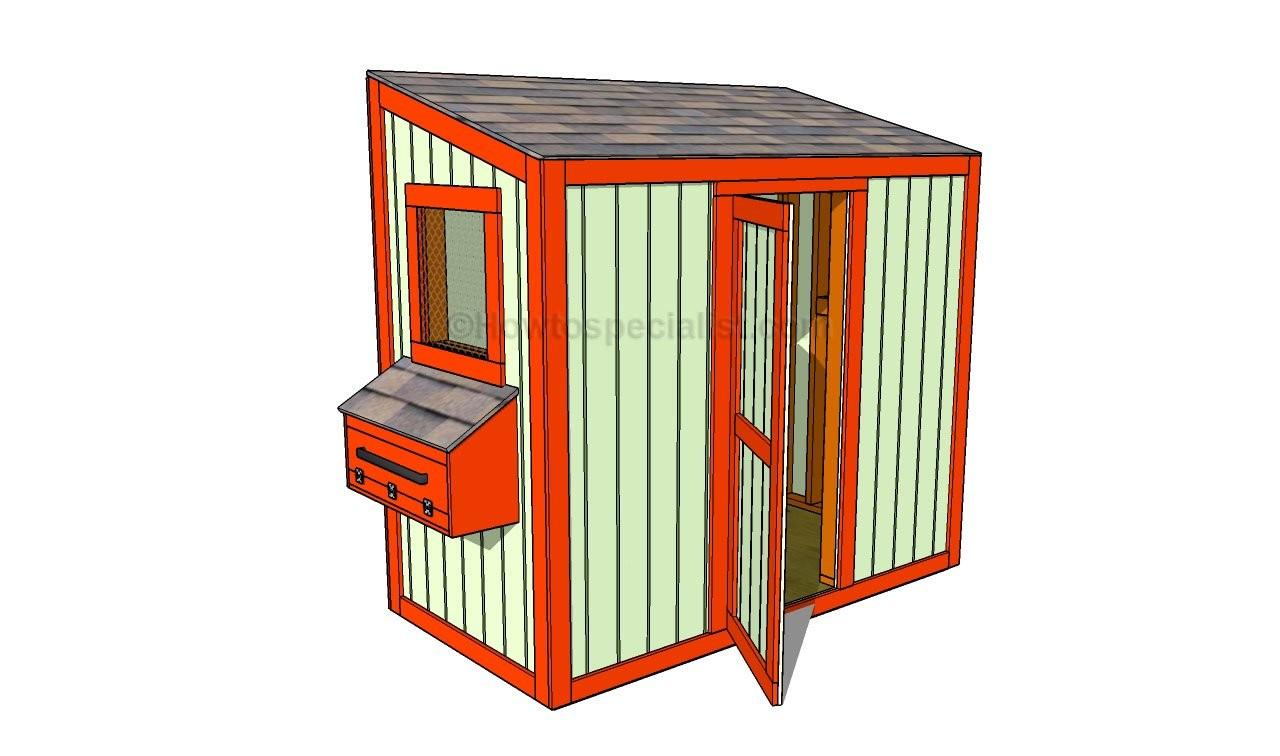 Build Chicken Coop Plans Howtospecialist