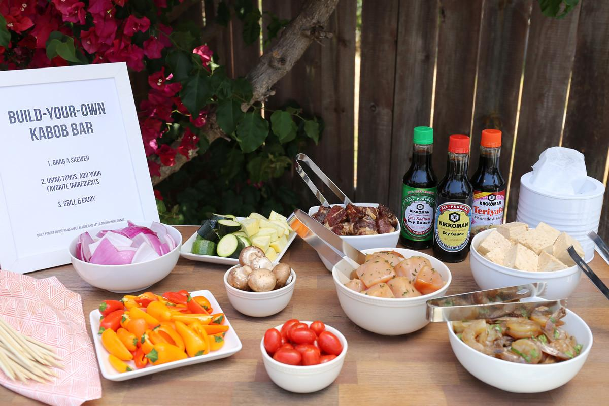 Build Diy Kabob Bar Smokin Summer Party Evite