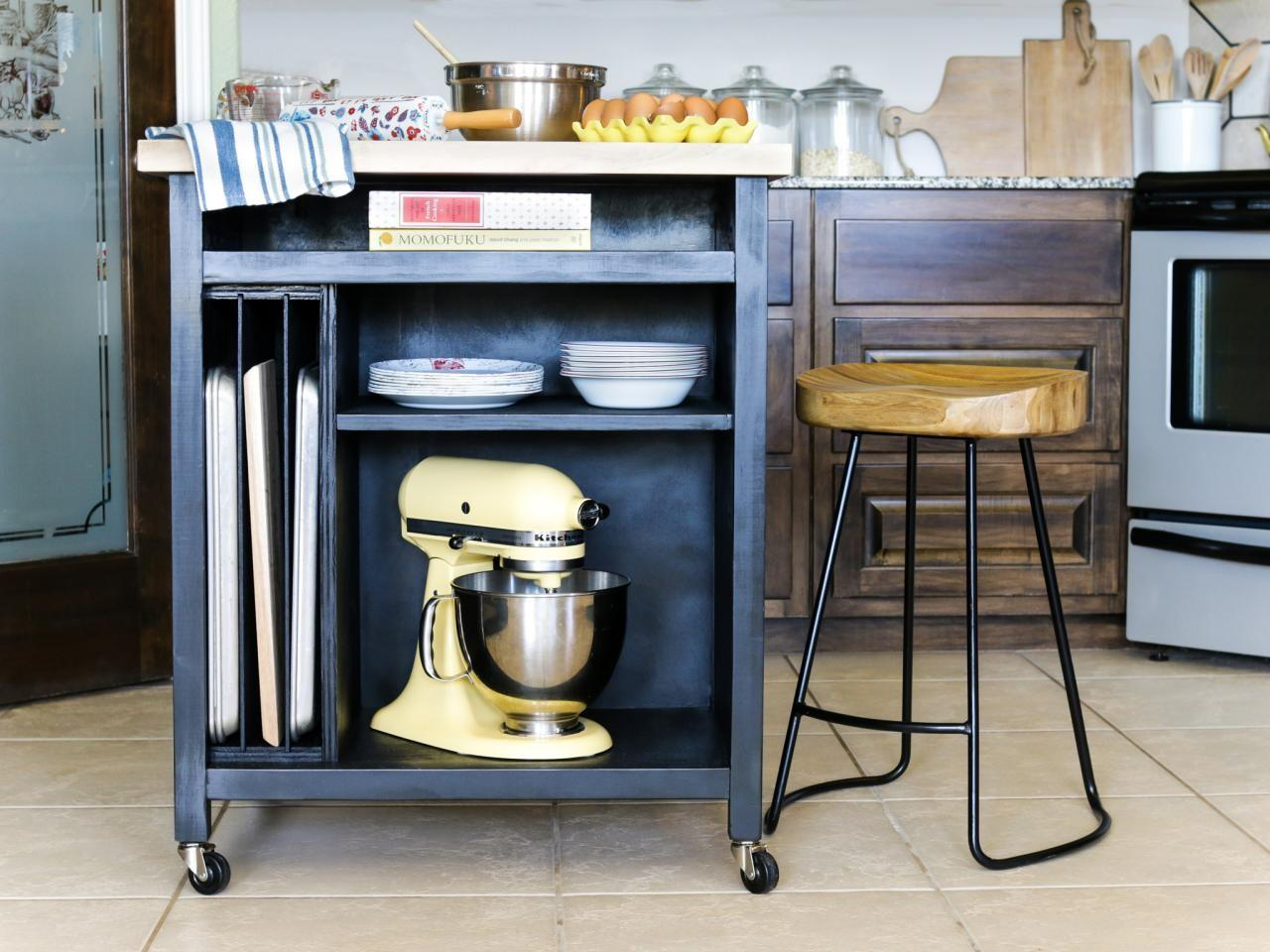 Build Diy Kitchen Island Wheels