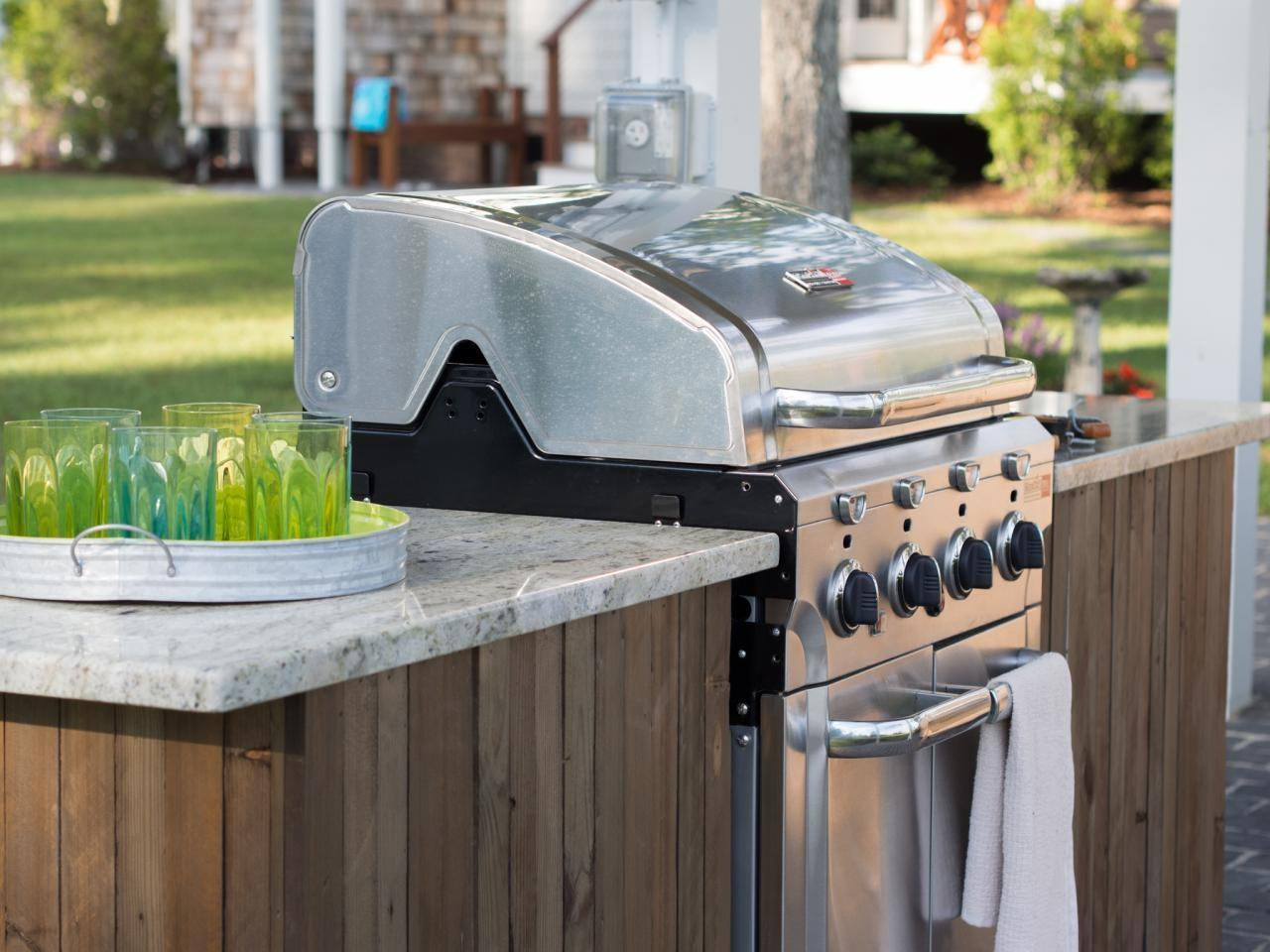 Build Grilling Island Tos Diy