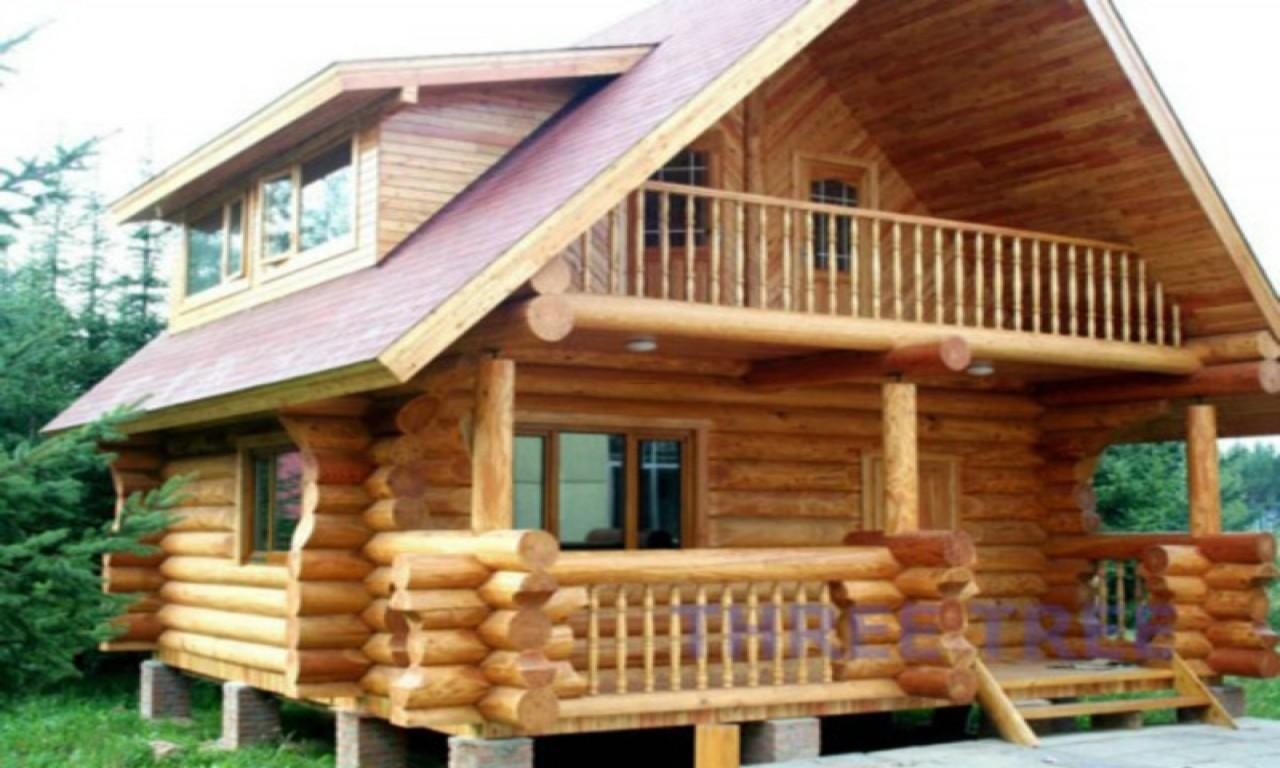 Build Home Design Small Wood House Cabins