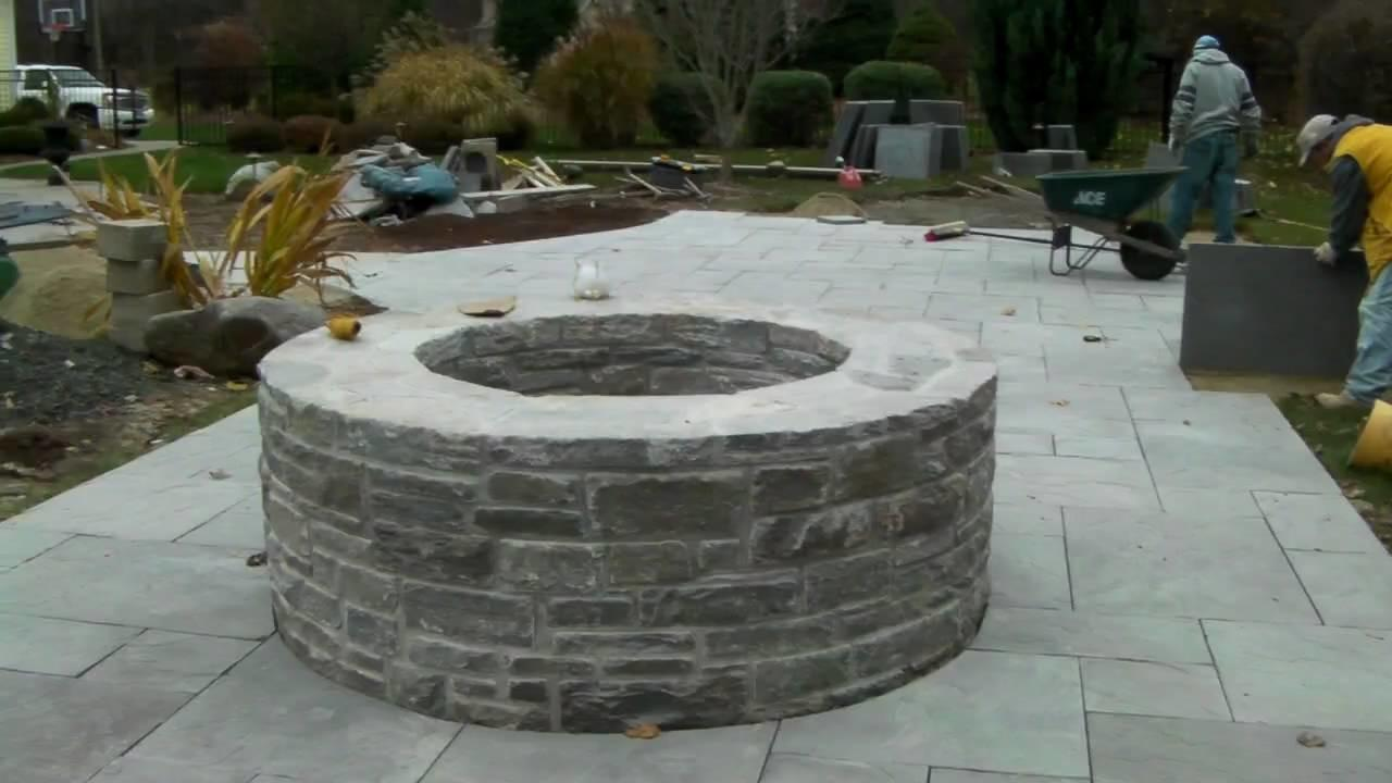 Build Incorporate Stone Fire Pit Your Back