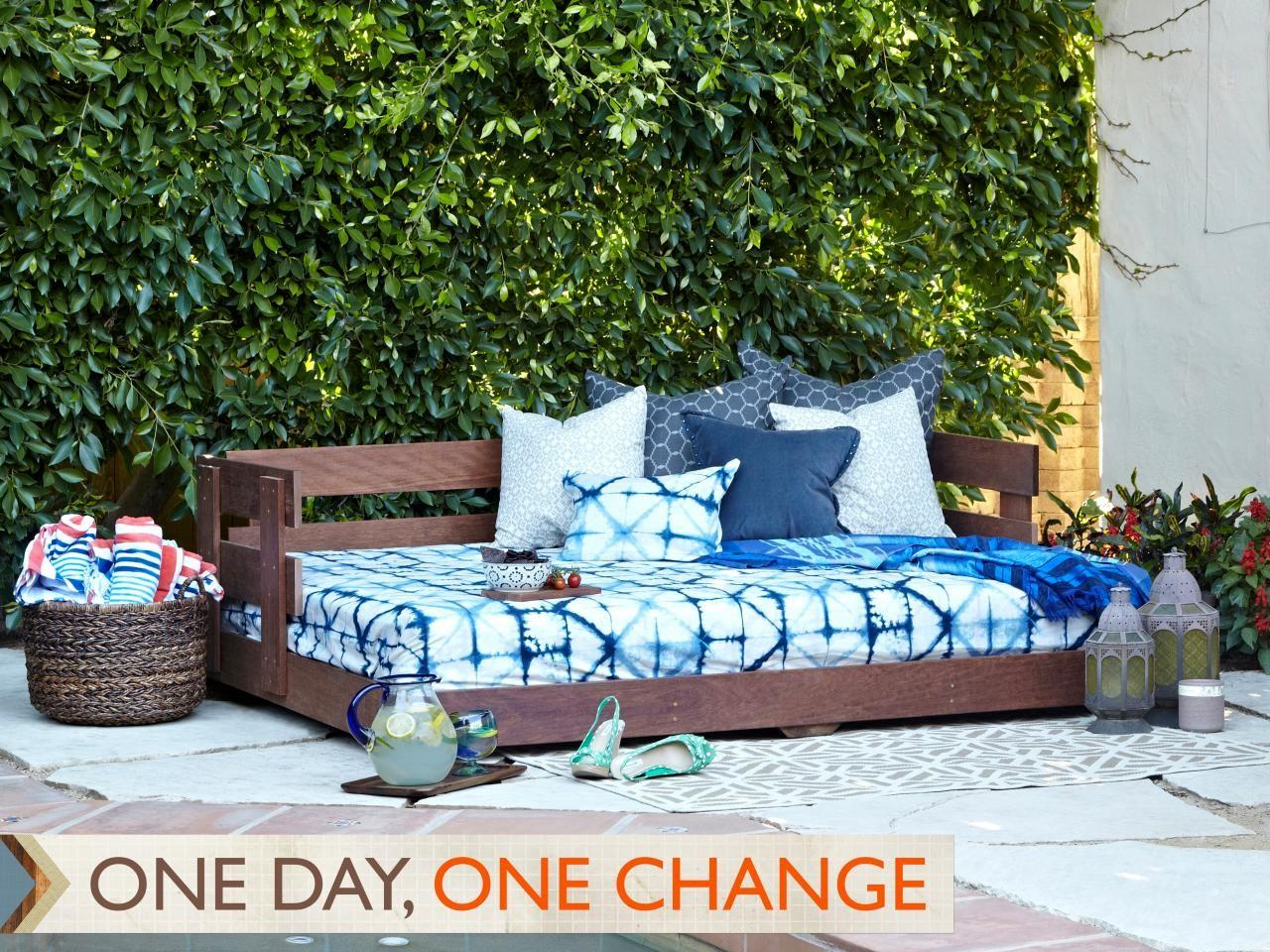 Build Lounge Worthy Outdoor Daybed
