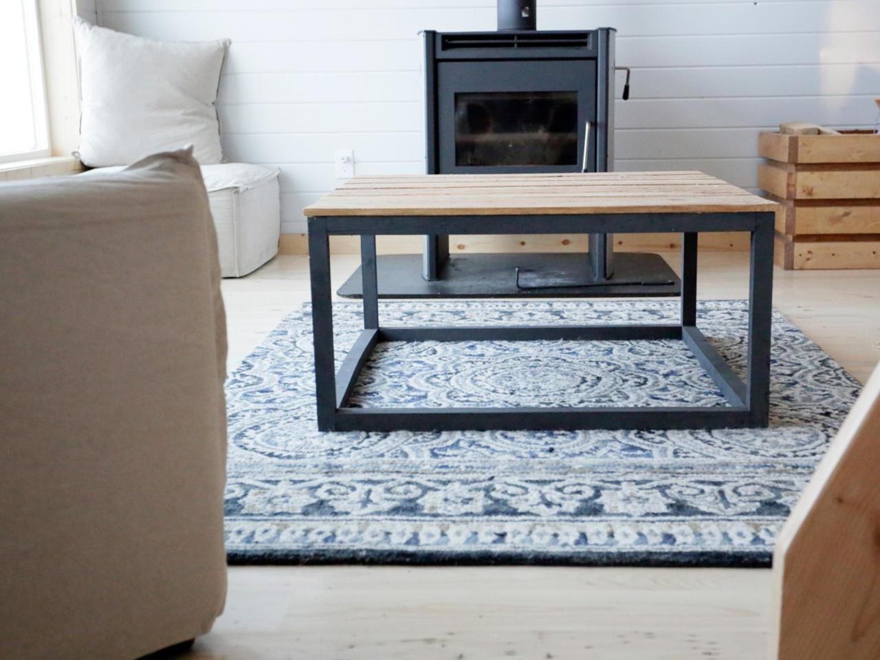 Build Modern Industrial Coffee Table Tos Diy