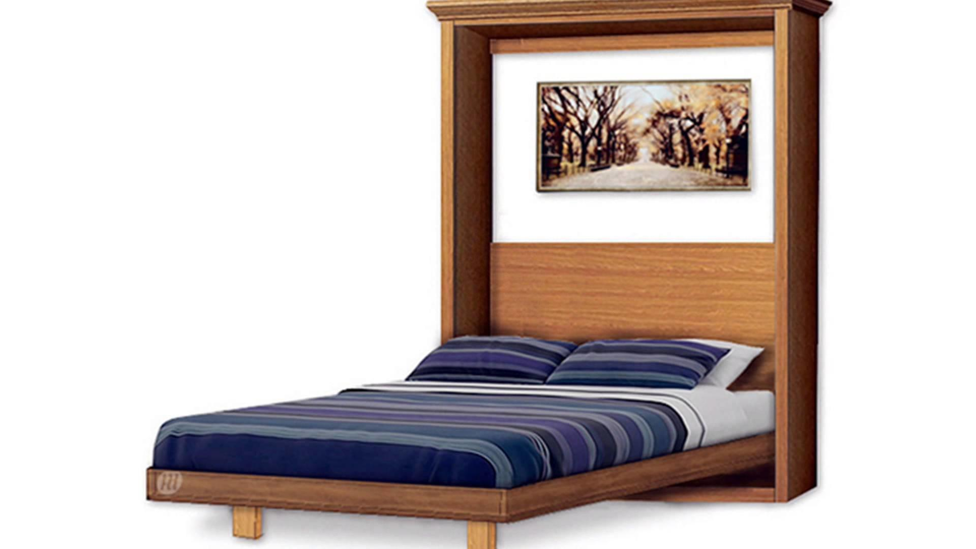 Build Murphy Wall Bed Yourself Under 300 Plans Design