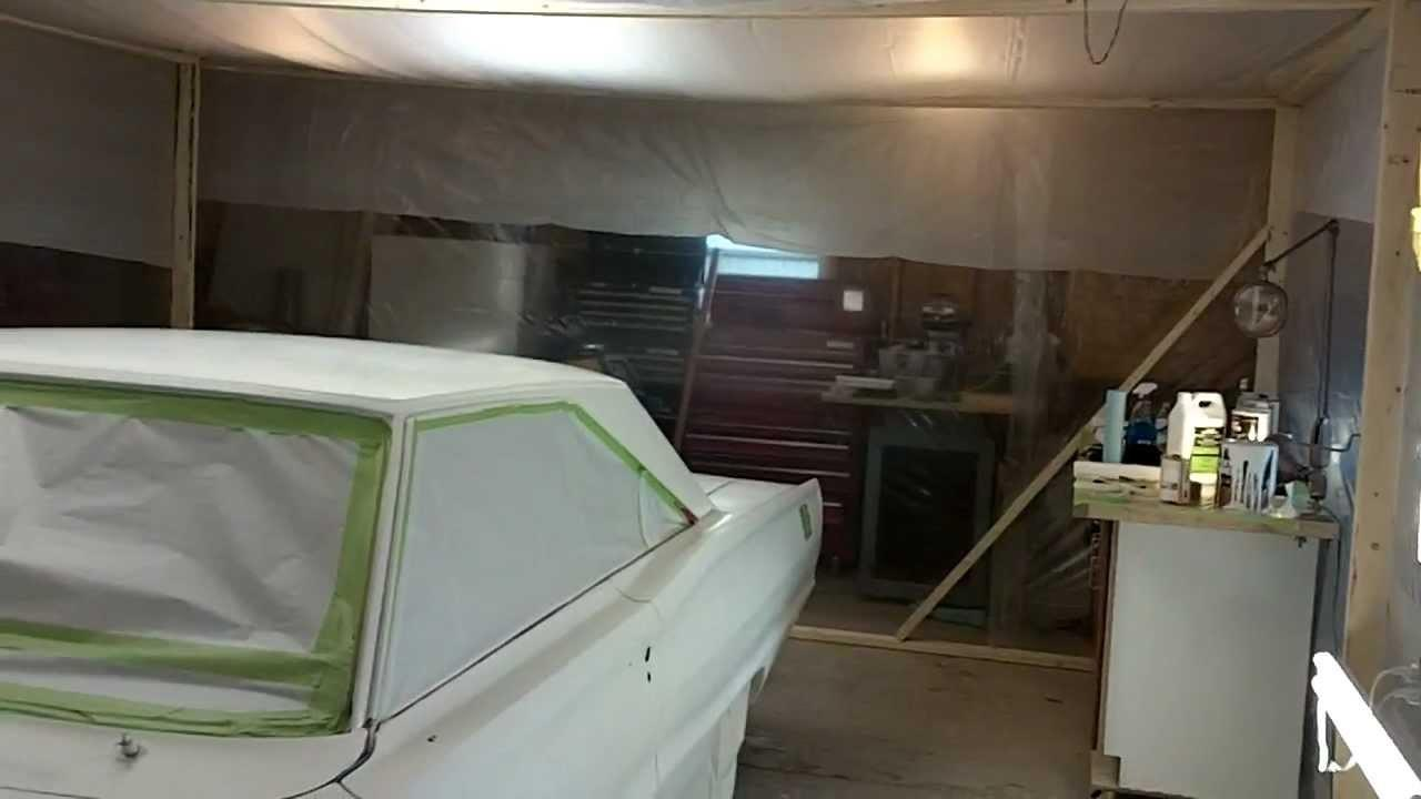 Build Paint Booth Your Car
