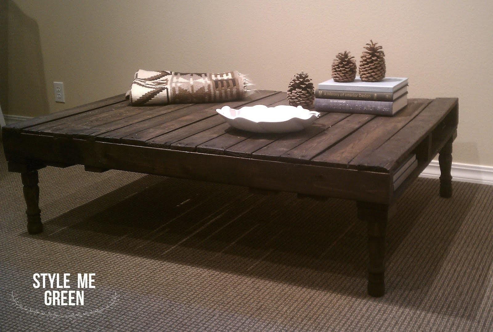Build Pallet Coffee Table Pdf Woodworking