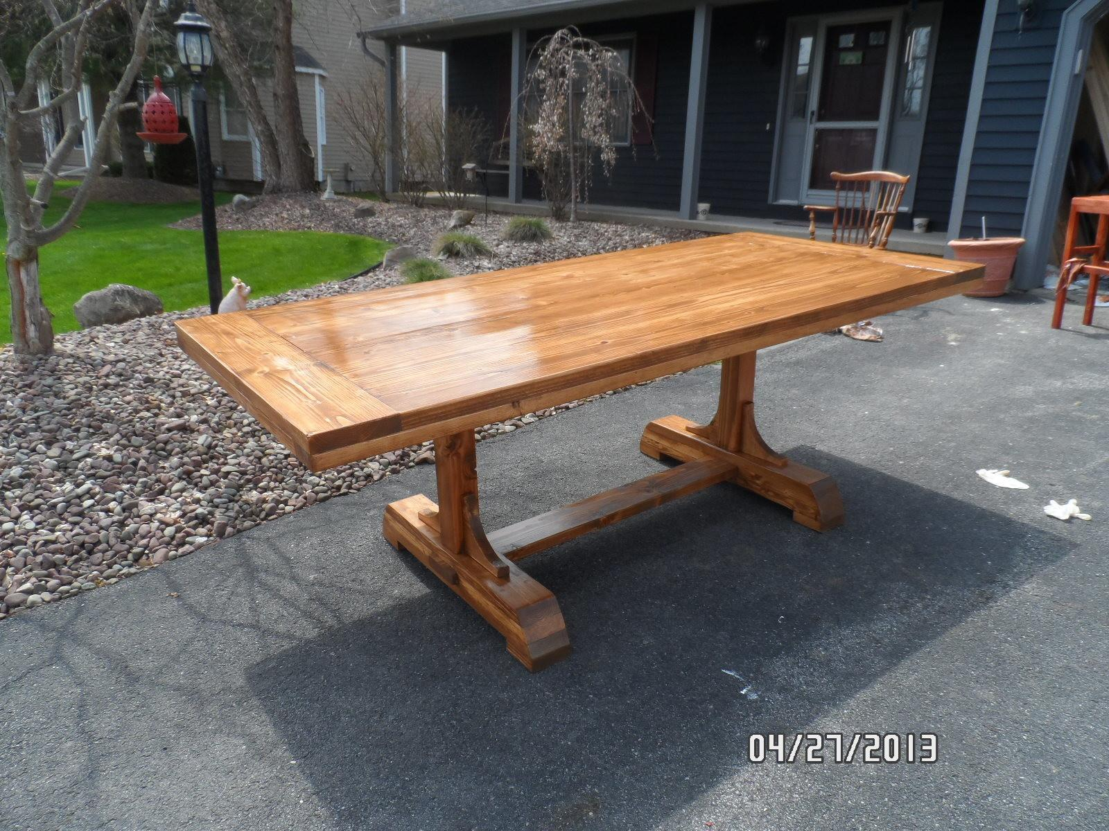 Build Plans Make Your Own Dining Table, Build Your Own Dining Room Table Plans