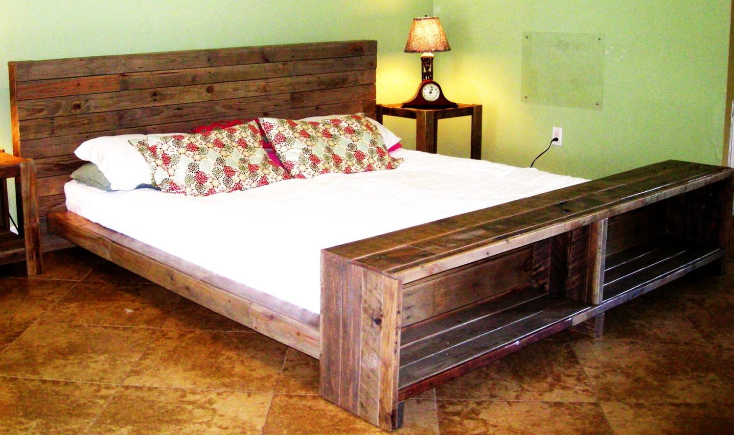 Build Platform Bed Pallets Quick Woodworking Projects
