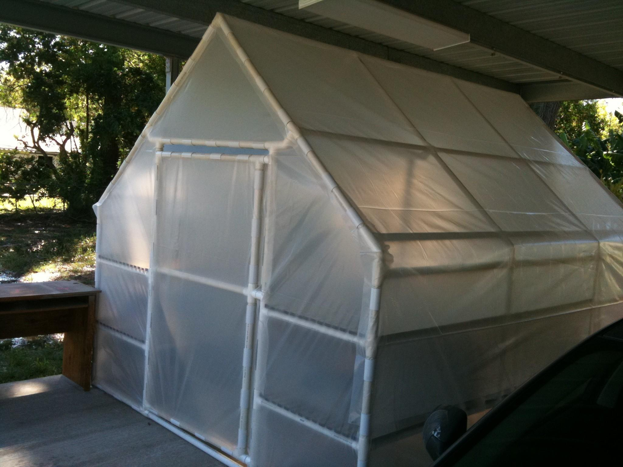 Build Pole Barn Uneven Ground Diy Greenhouse